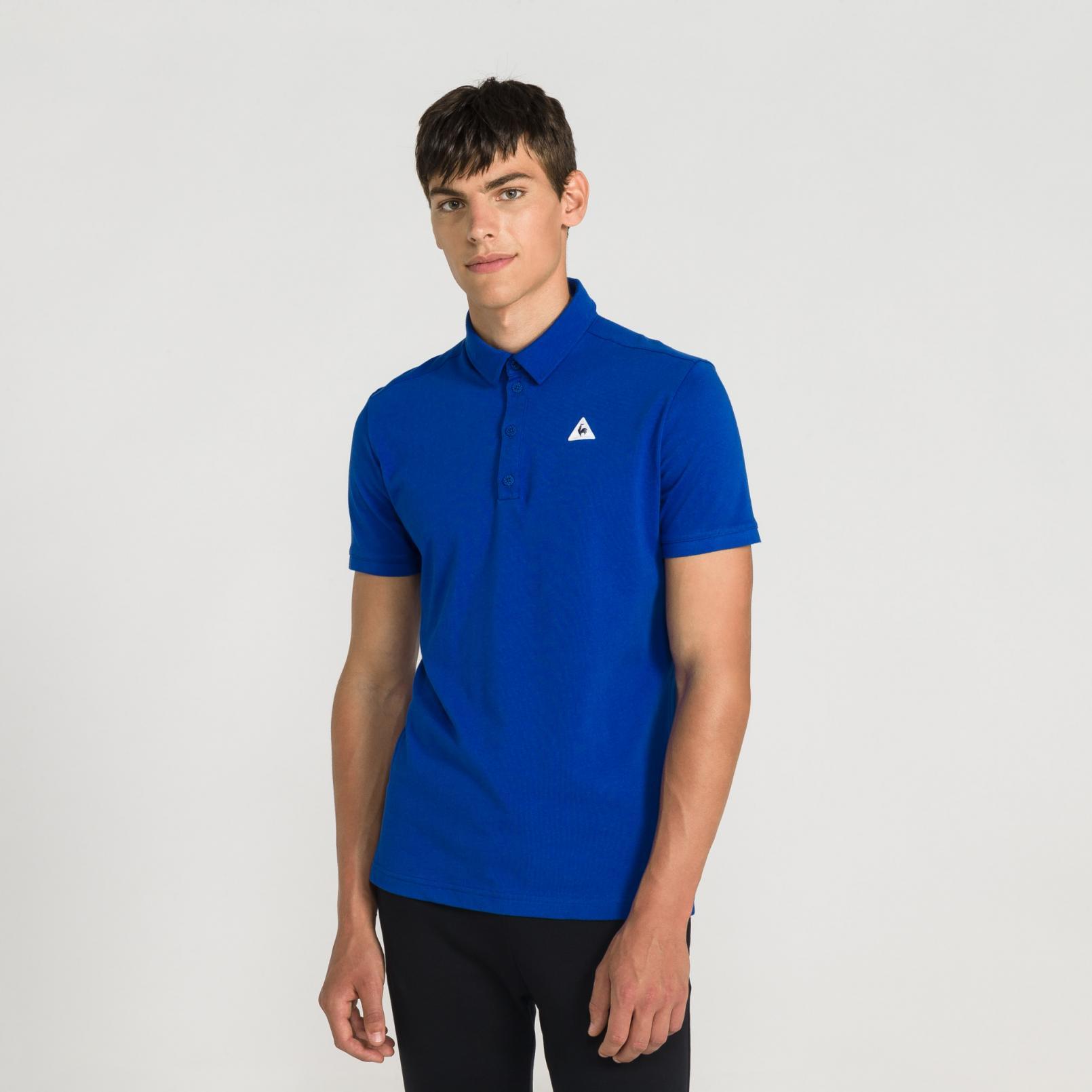 Polo – Le Coq Sportif Essentiels Polo Blue/White