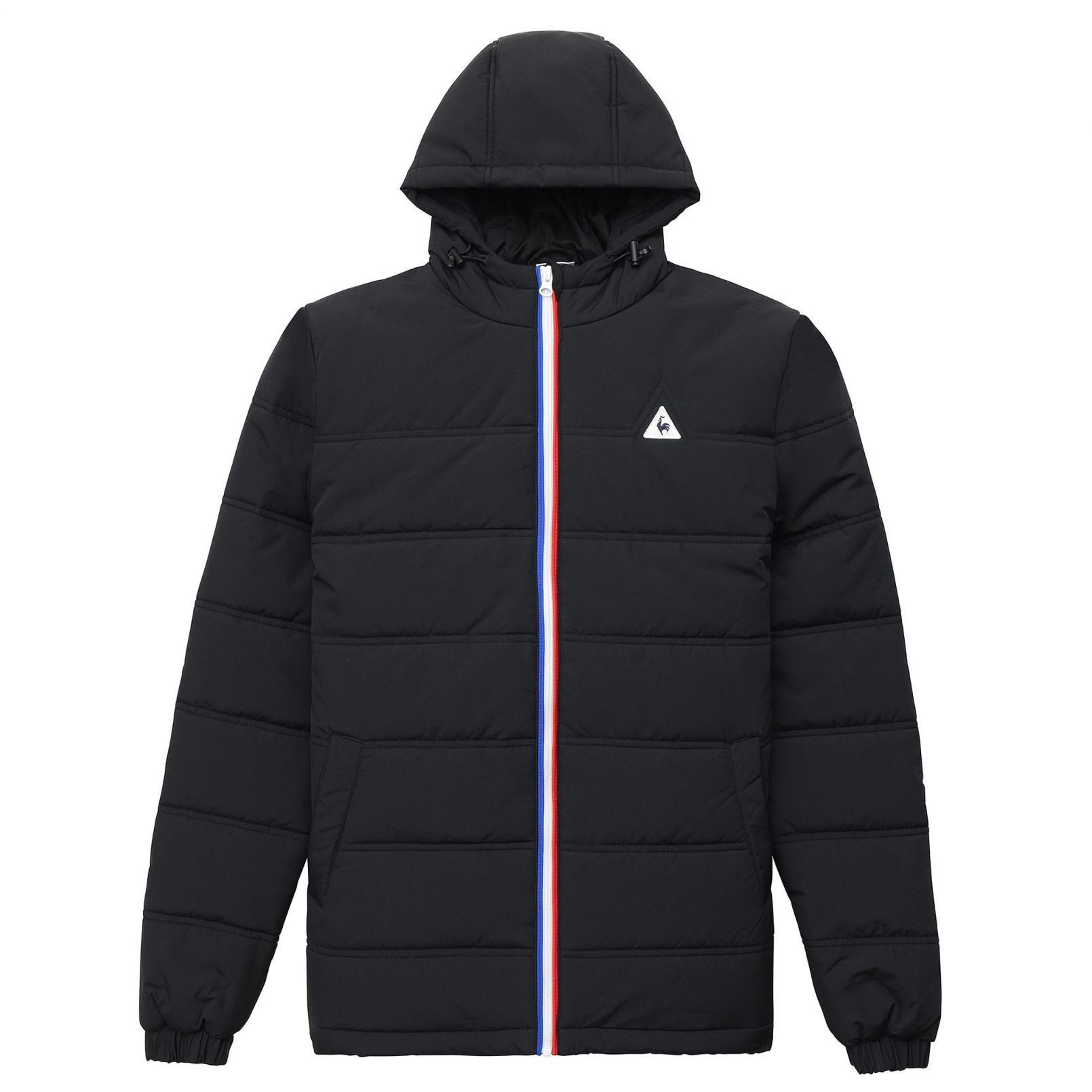 Coats & Jackets – Le Coq Sportif Essentiels Jacket Black