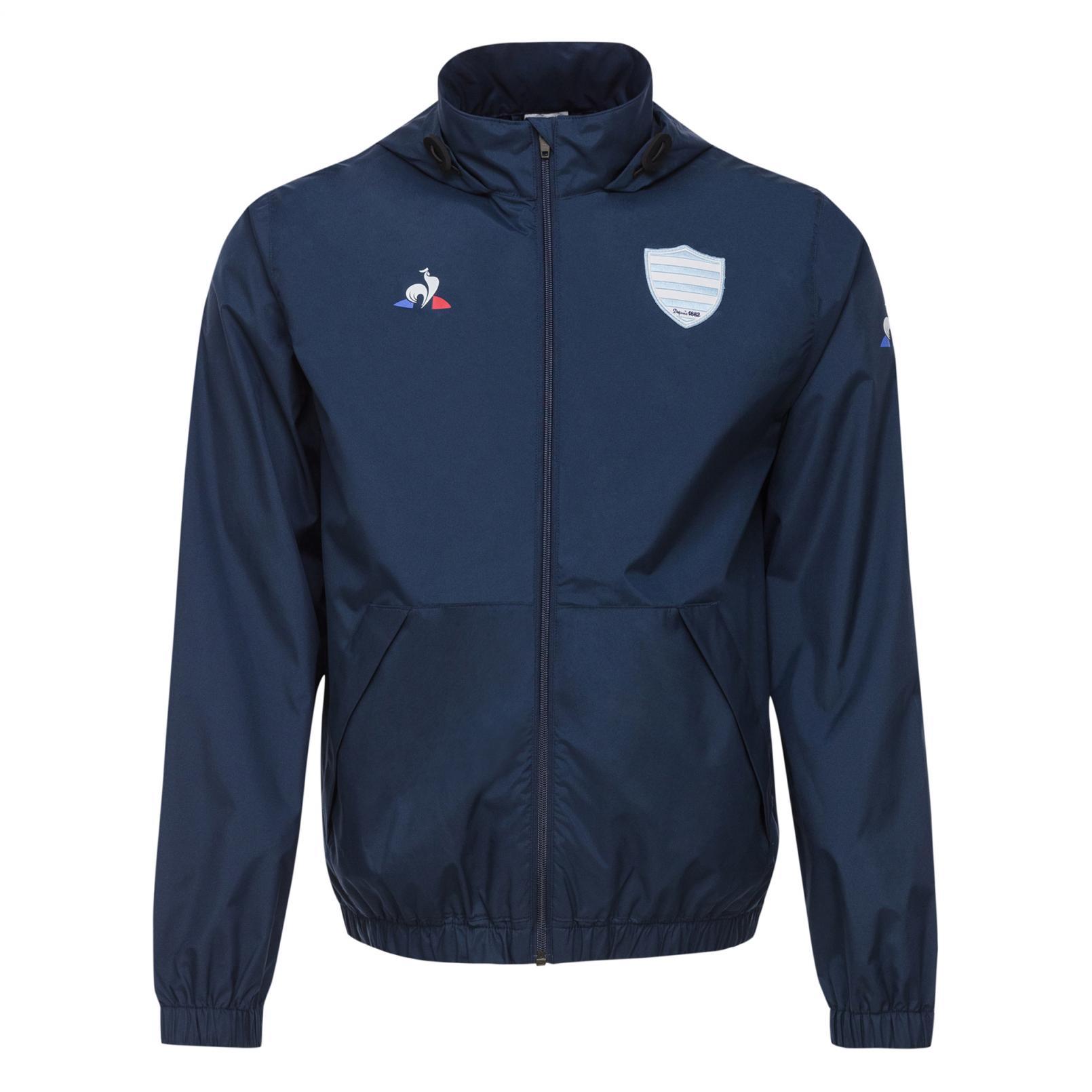 Coats & Jackets – Le Coq Sportif Racing 92 Training Rain jacket Blue