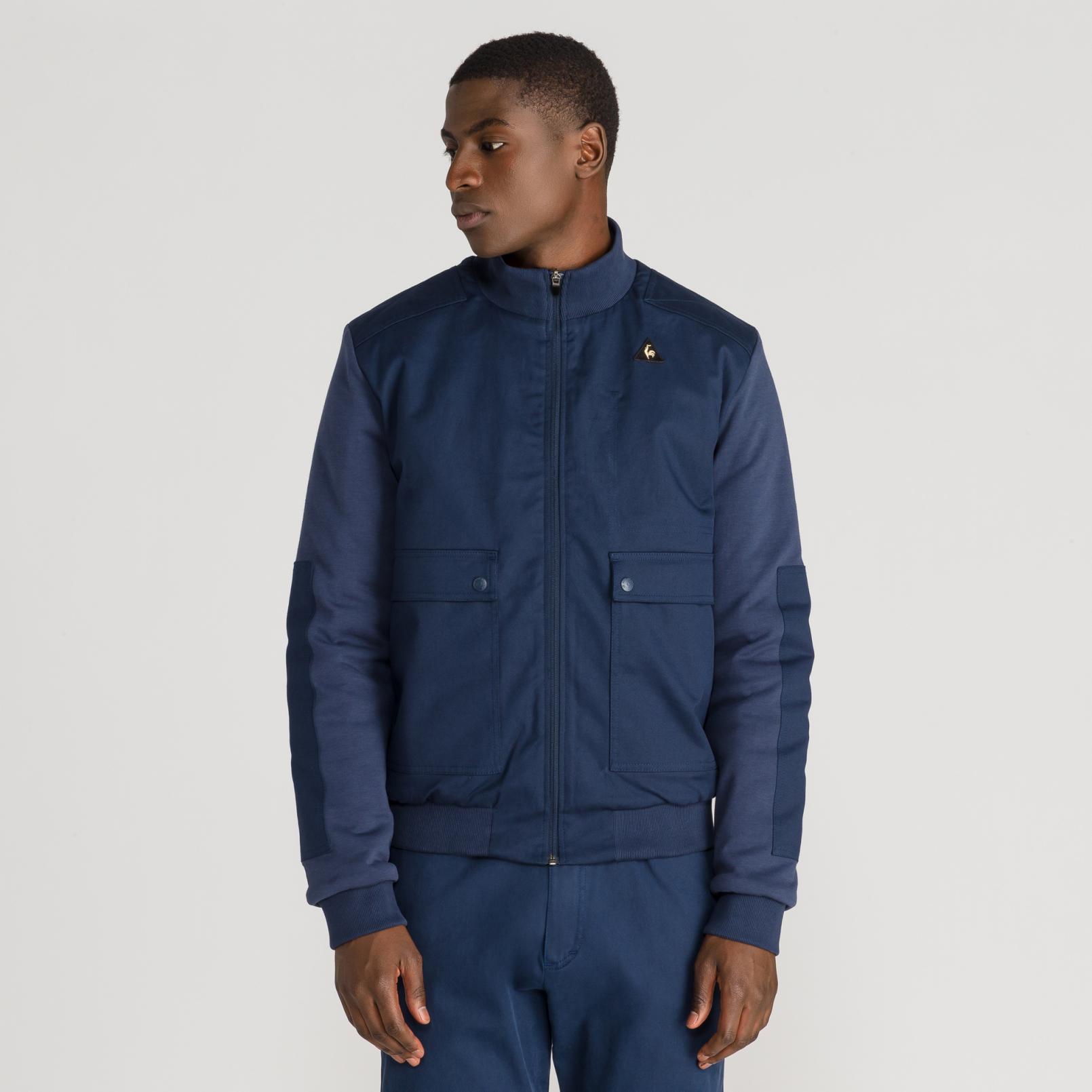 Coats & Jackets – Le Coq Sportif Stadium Bomber Blue