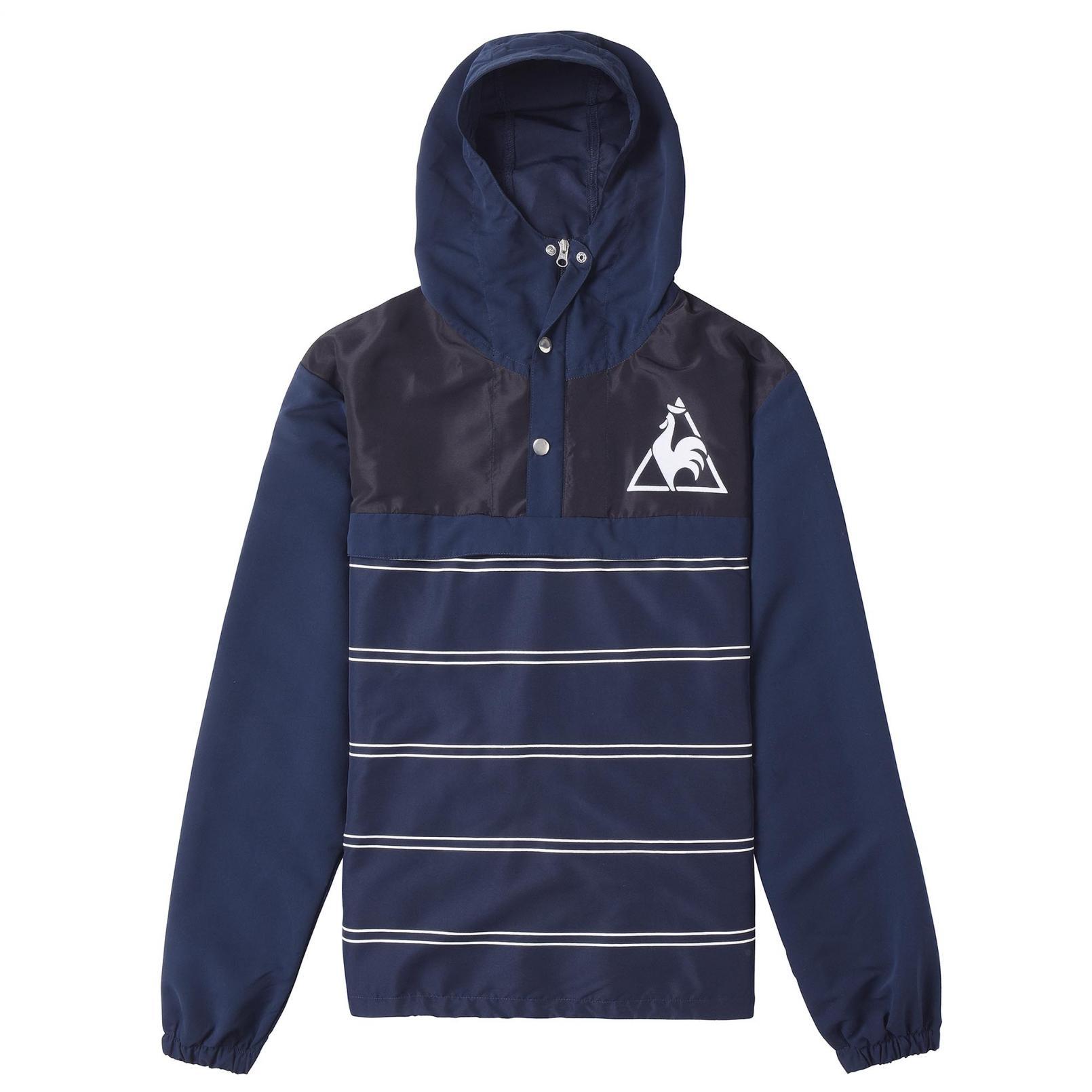Coats & Jackets – Le Coq Sportif Tricolore Windbreaker Blue
