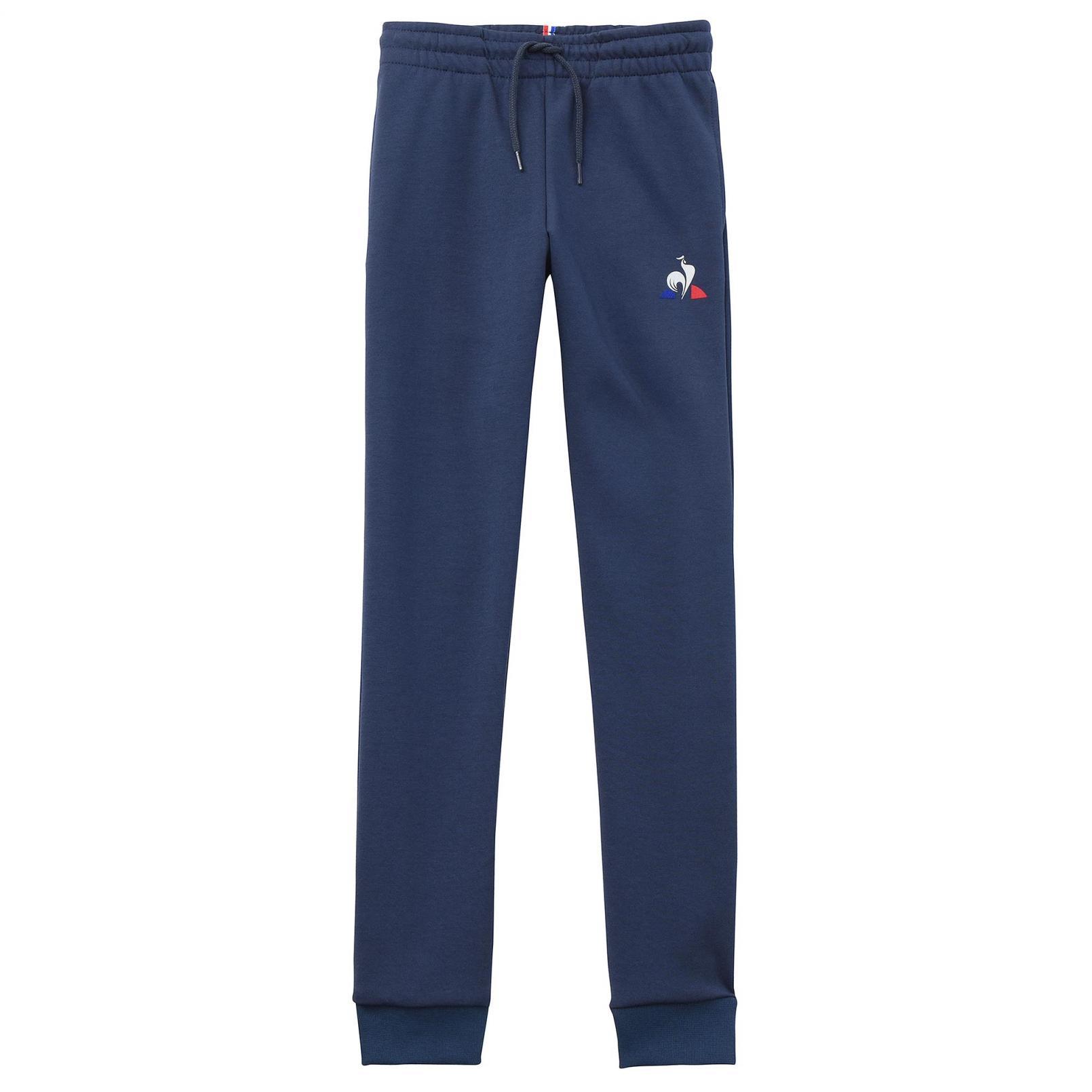 Kids Apparel – Le Coq Sportif Essentiels Pant Slim Blue