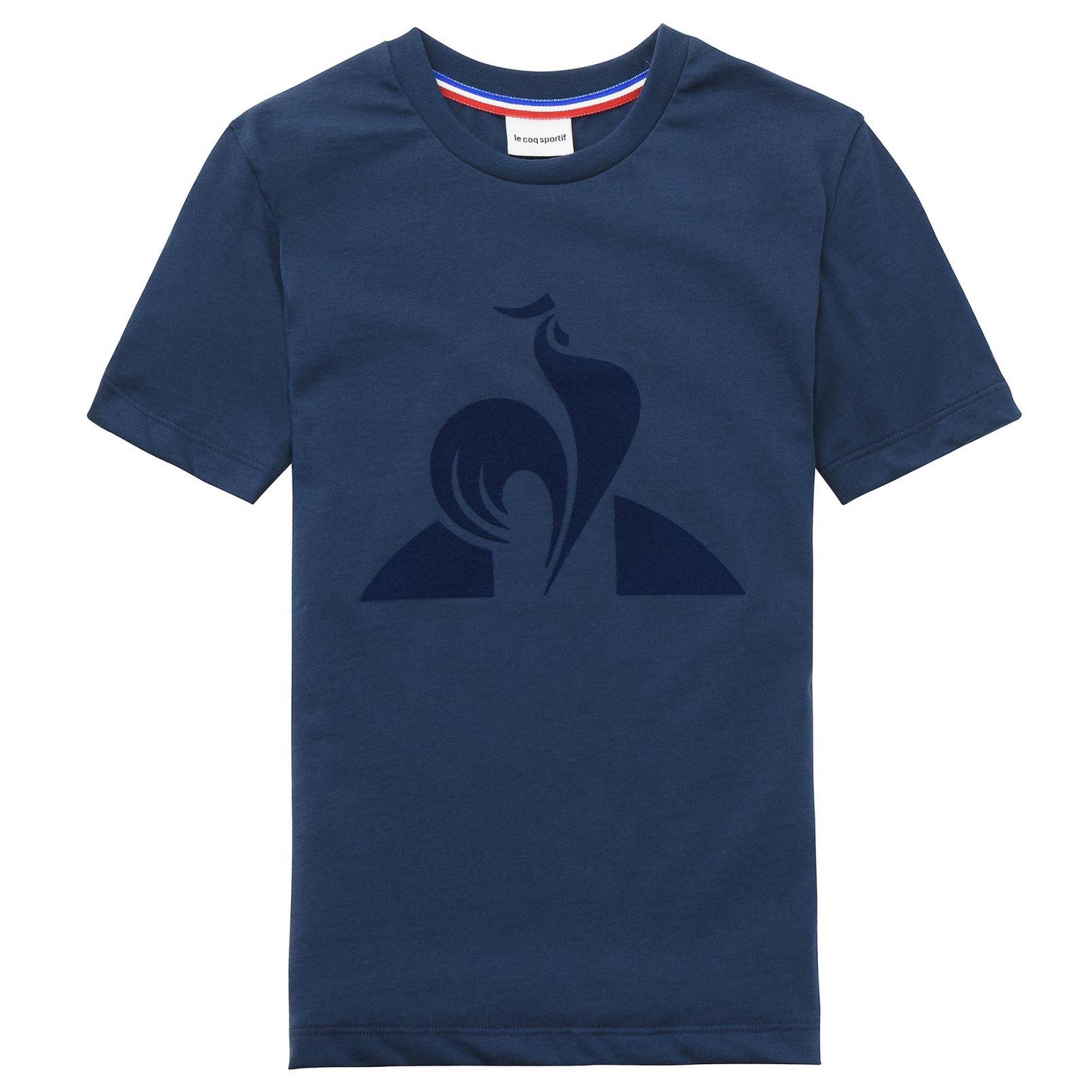 Kids Apparel – Le Coq Sportif Essentiels T-shirt Blue