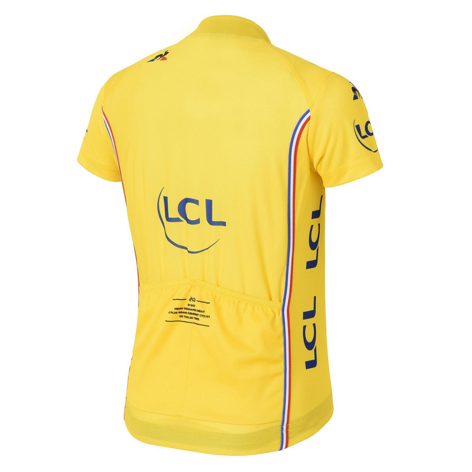 Kids Apparel – Le Coq Sportif TDF 2017 Replica Jersey Yellow