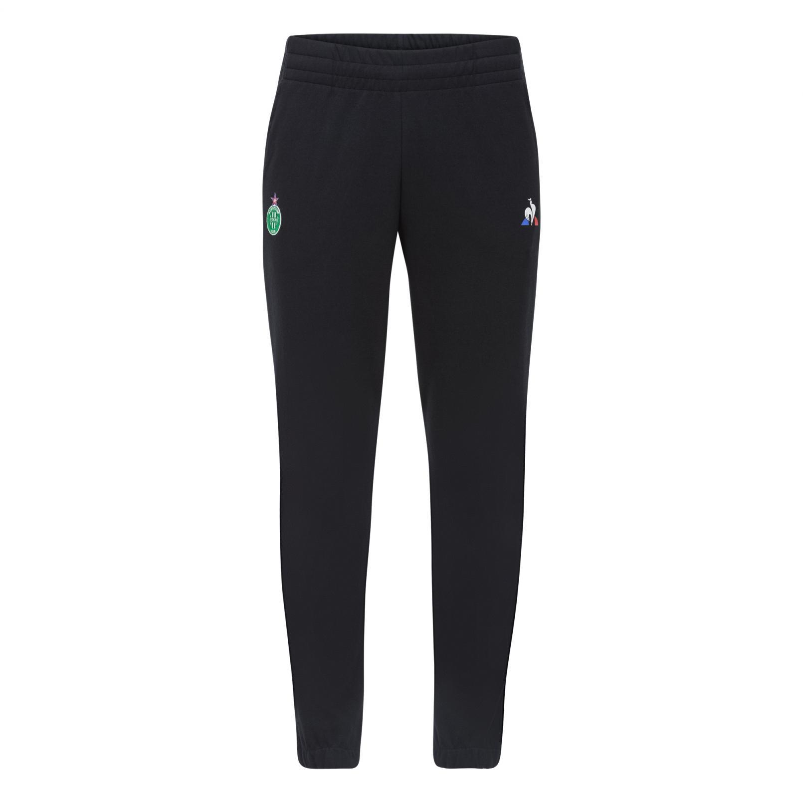 Pants – Le Coq Sportif ASSE Pres Pant Black