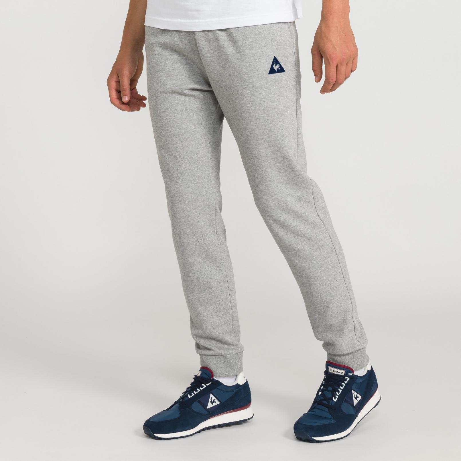 Pants – Le Coq Sportif Essentiels Pant Regular Grey
