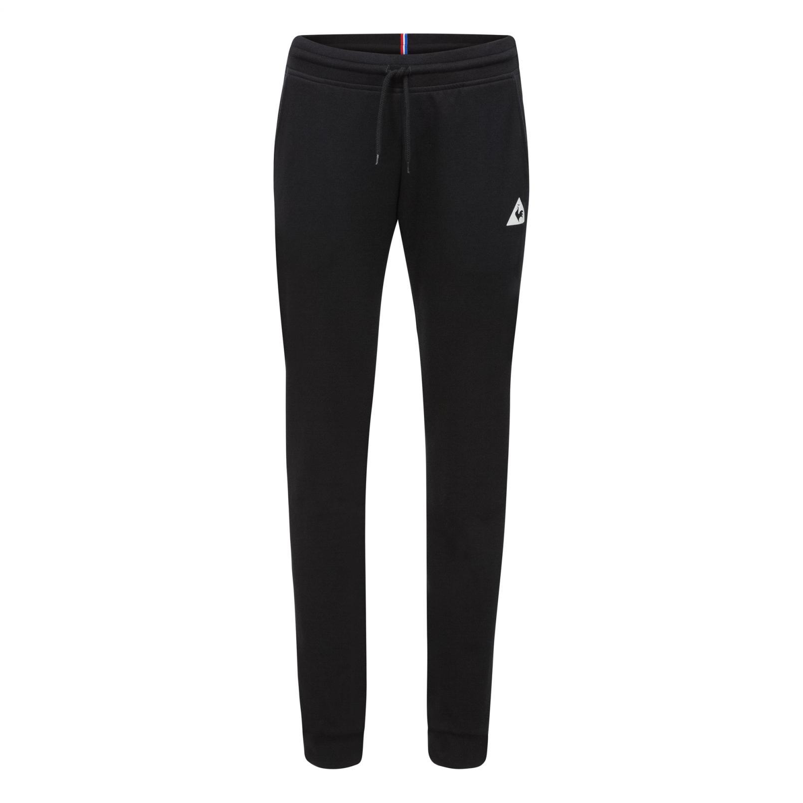 Pants – Le Coq Sportif Essentiels Pant Slim Black