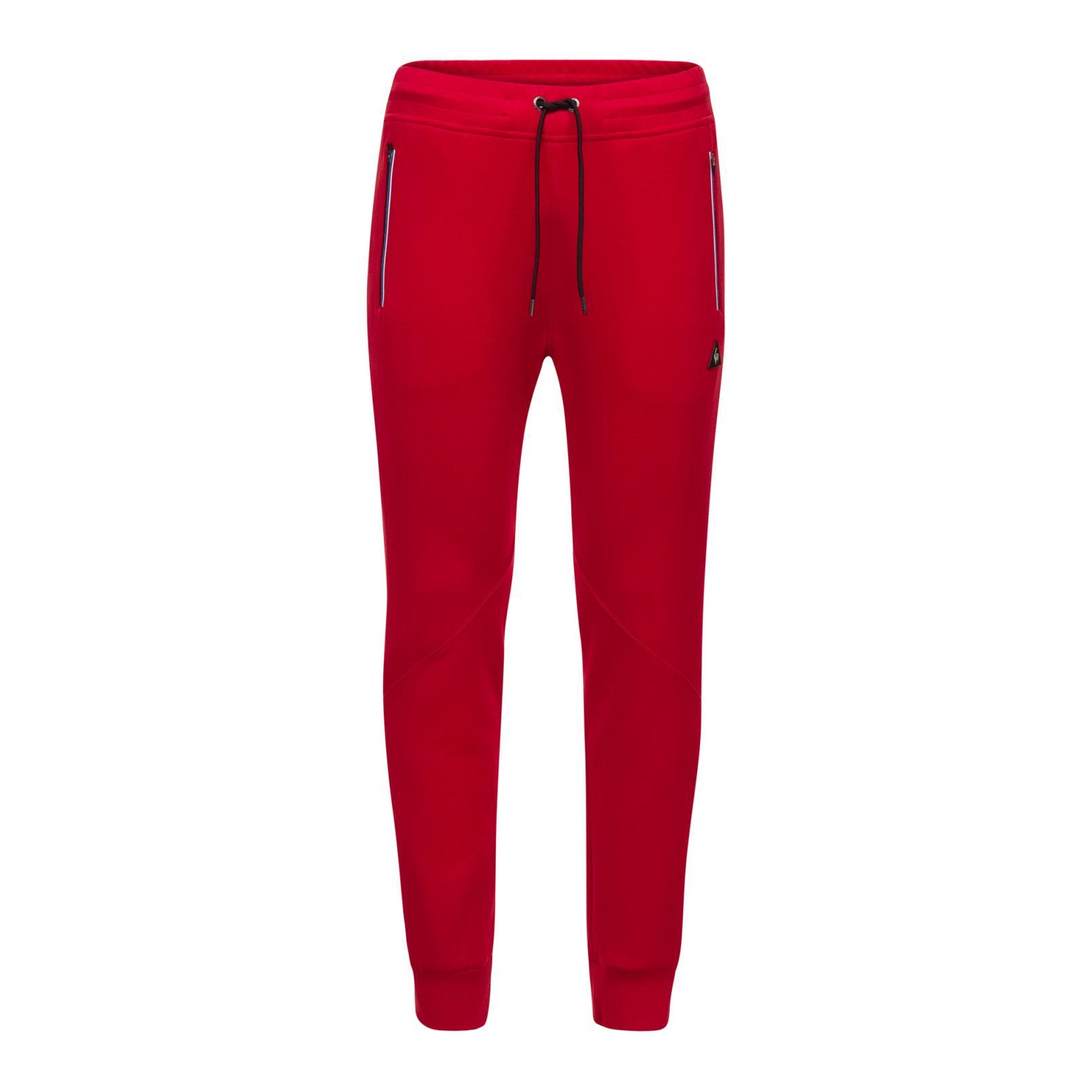 Pants – Le Coq Sportif LCS Tech Pant Red