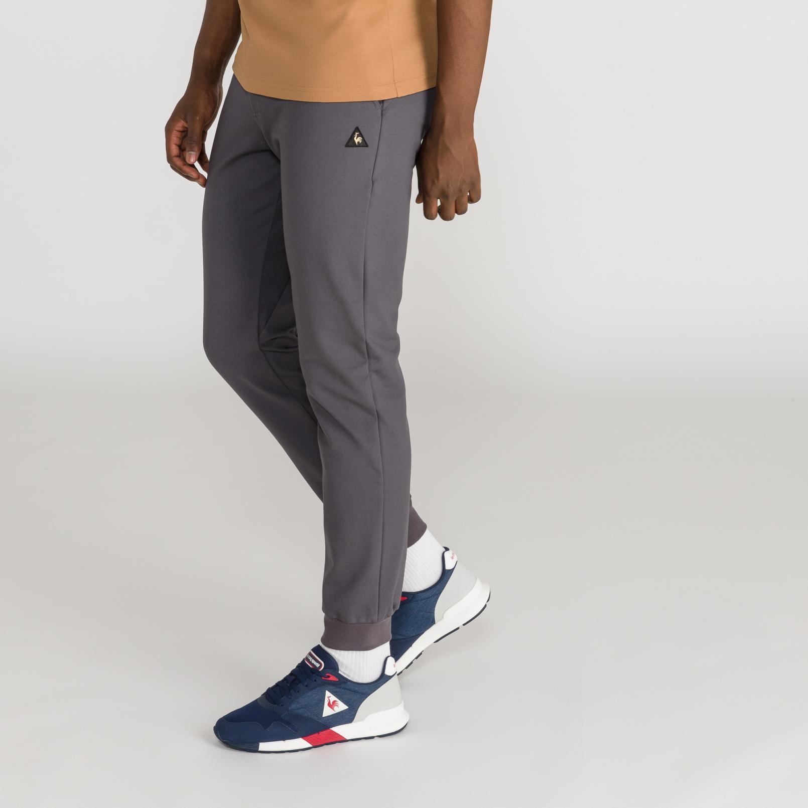 Pants – Le Coq Sportif Stadium Pant Grey