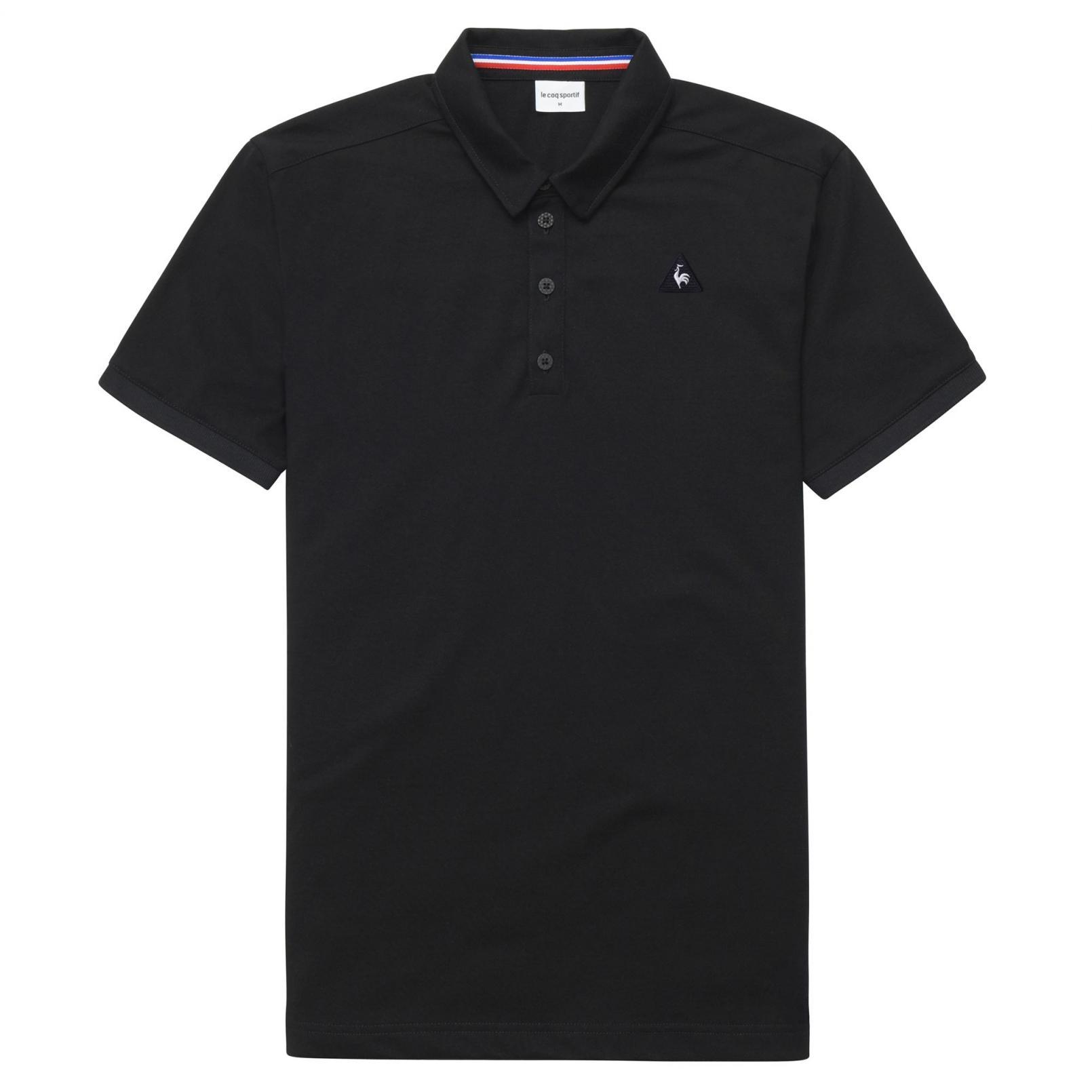Polo – Le Coq Sportif Essentiels Polo Black
