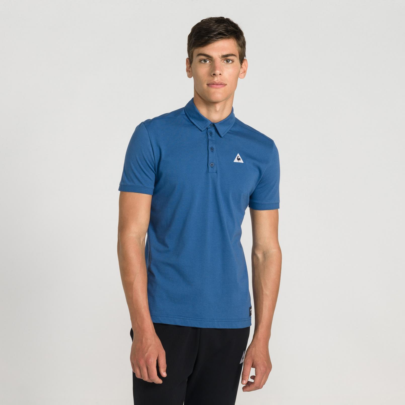 Polo – Le Coq Sportif Essentiels Polo Blue