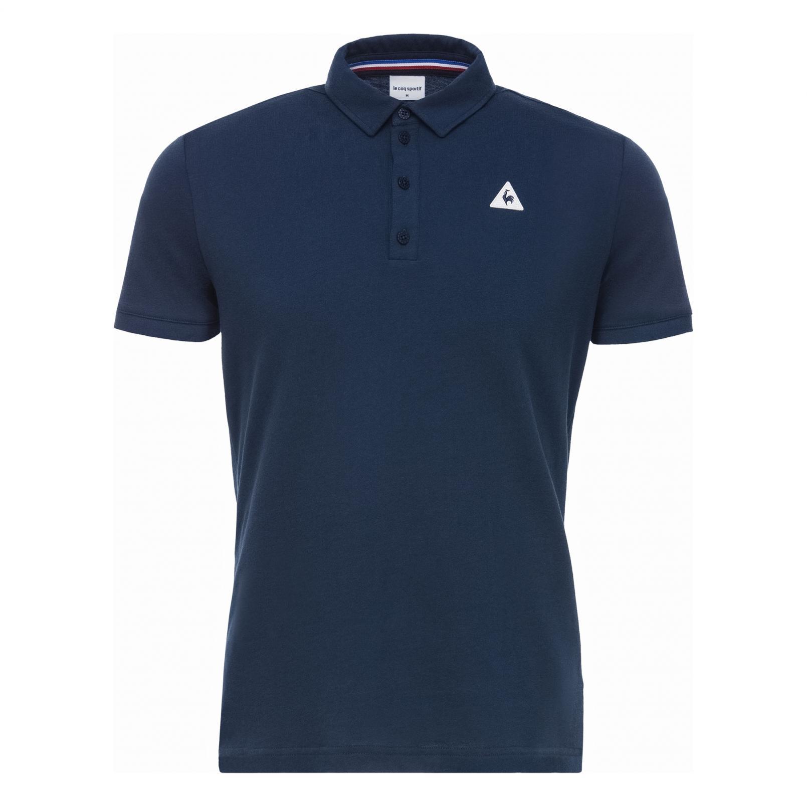 Polo – Le Coq Sportif Essentiels Polo Blue/Black