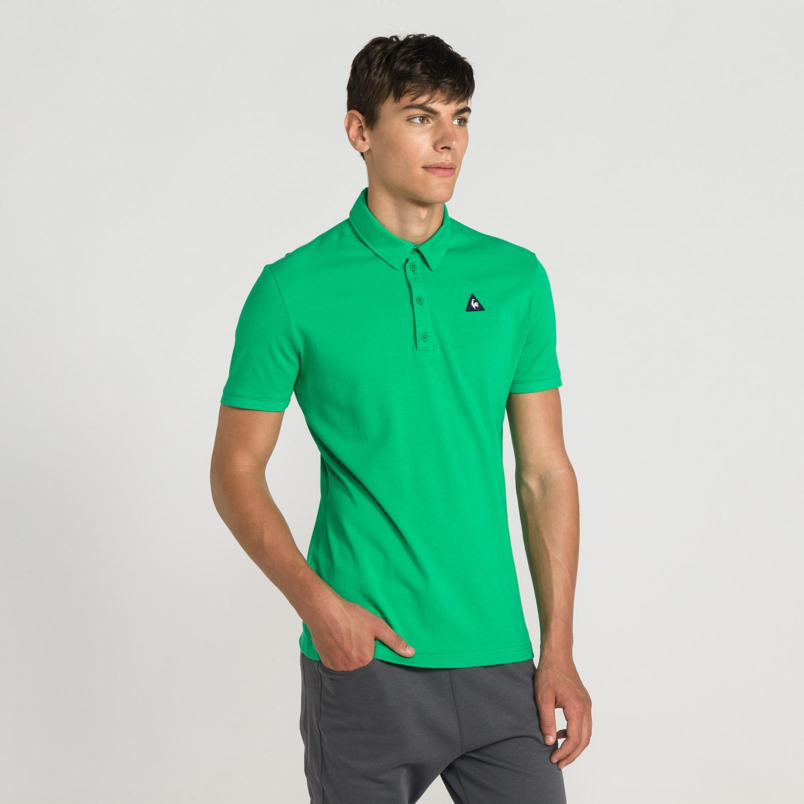 Polo – Le Coq Sportif Essentiels Polo Green