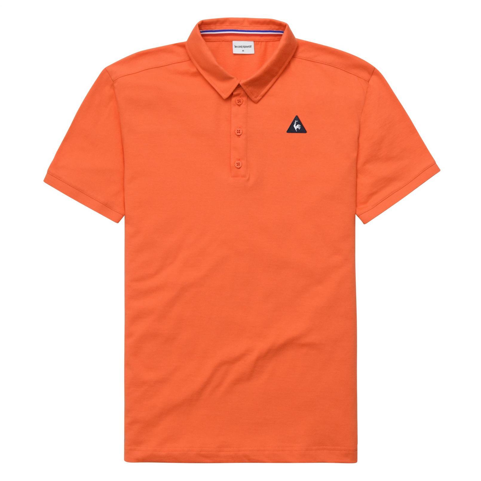 Polo – Le Coq Sportif Essentiels Polo Orange