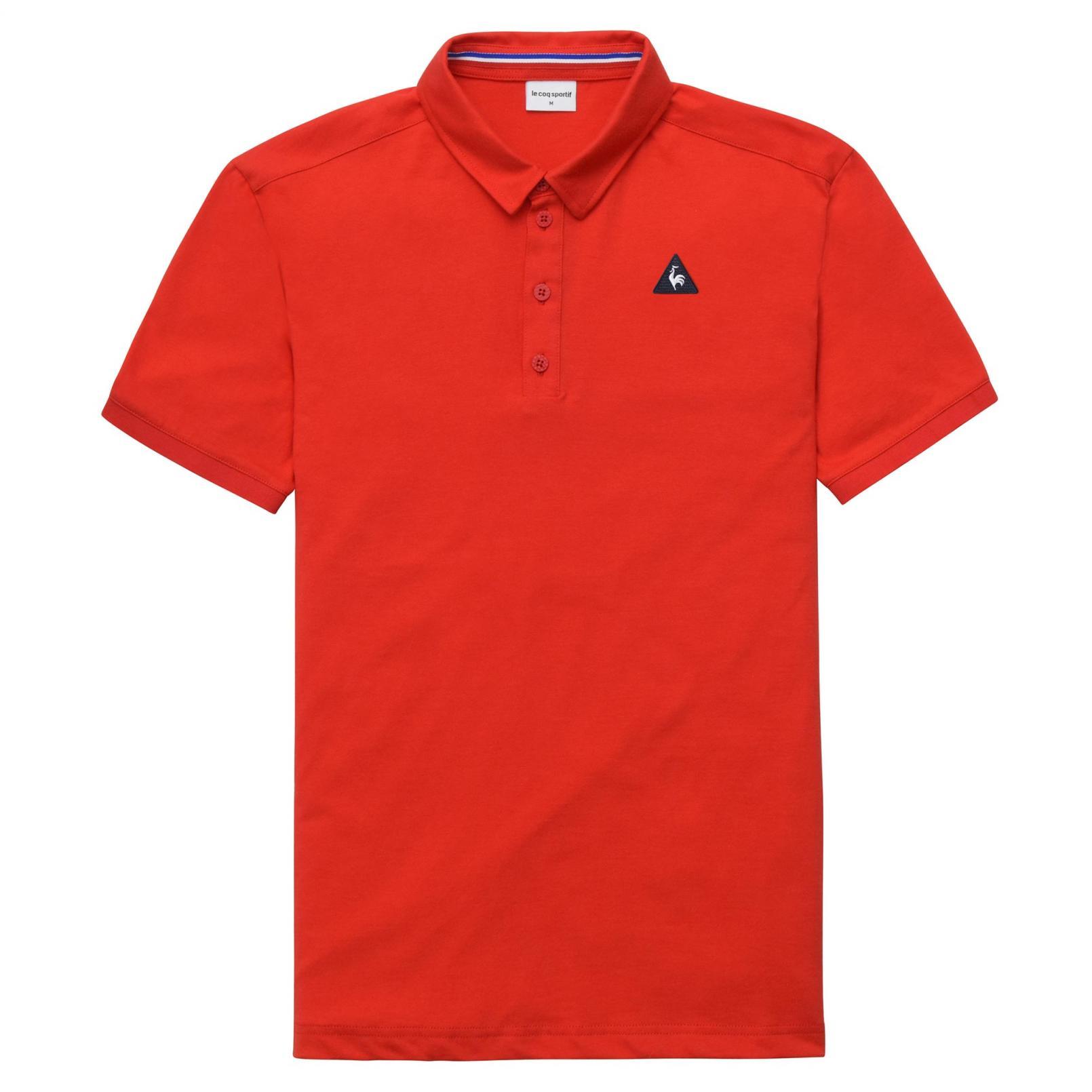 Polo – Le Coq Sportif Essentiels Polo Red
