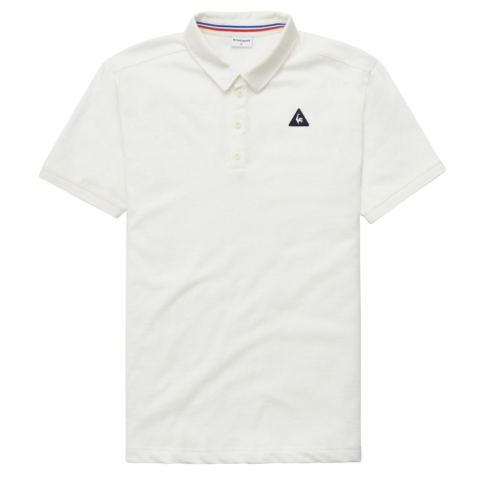 Polo – Le Coq Sportif Essentiels Polo White/Cream
