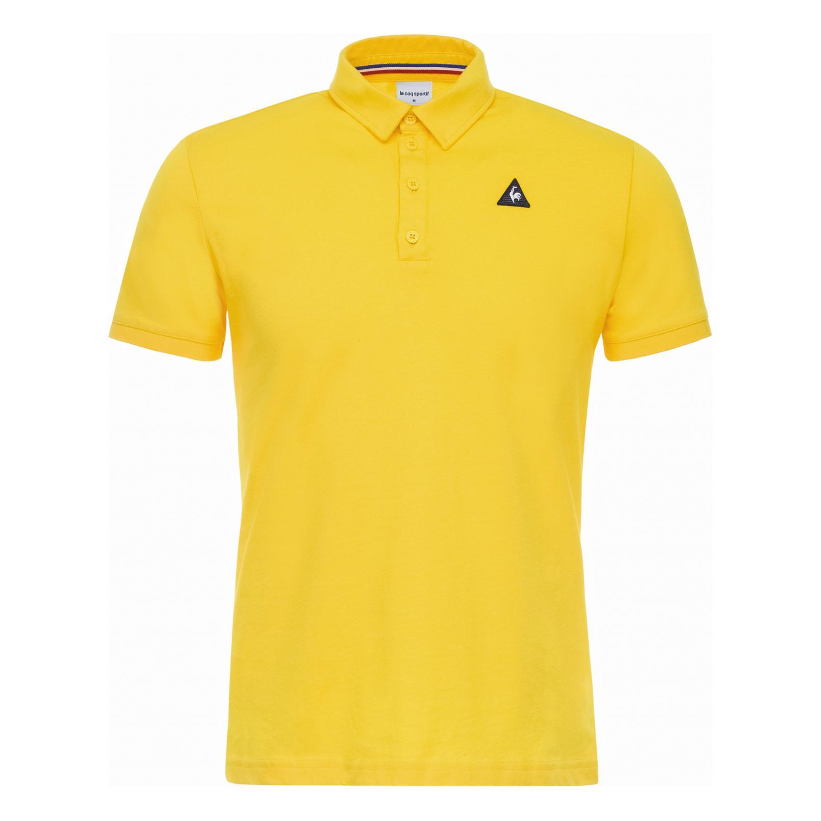 Polo – Le Coq Sportif Essentiels Polo Yellow