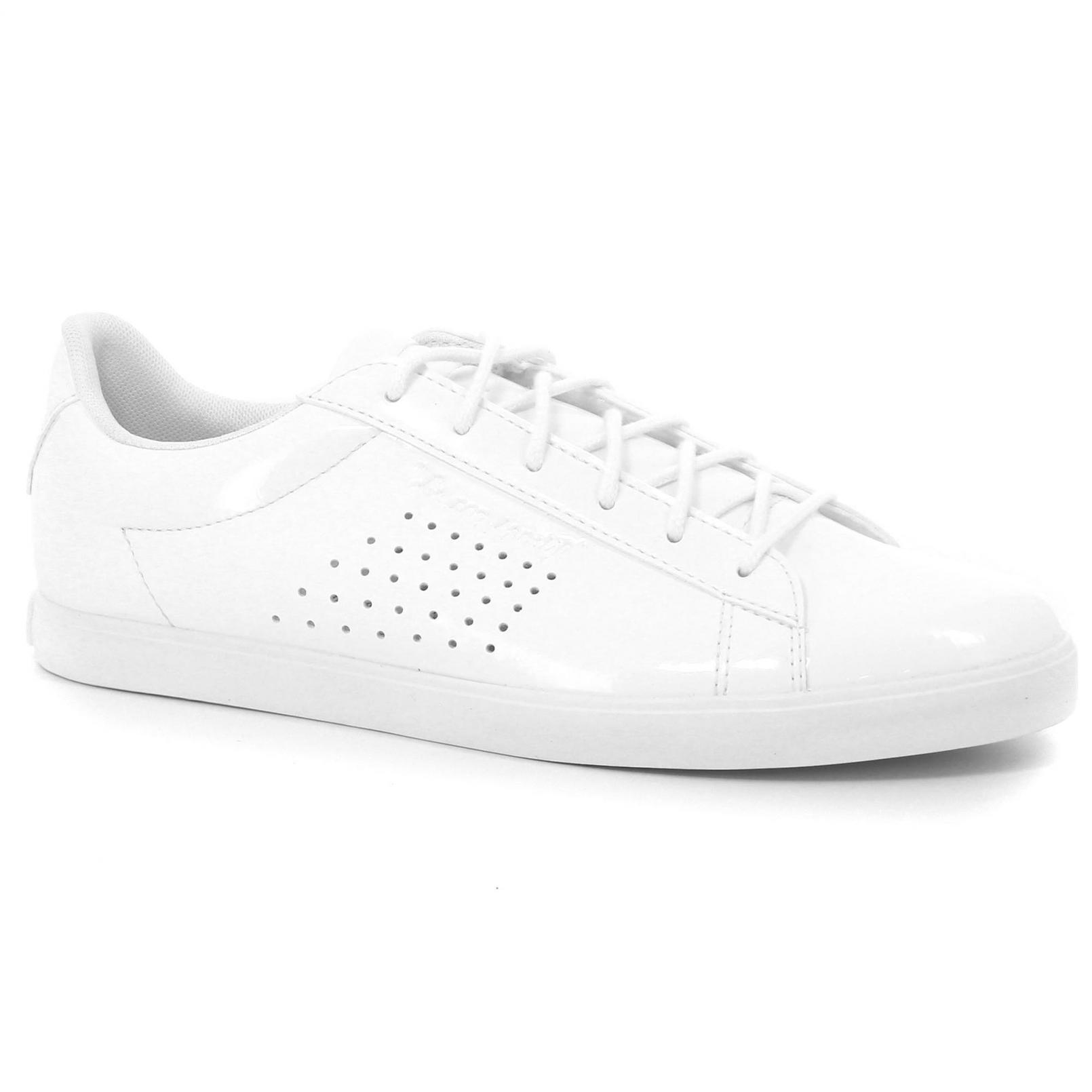 Shoes – Le Coq Sportif Agate Lo Patent White