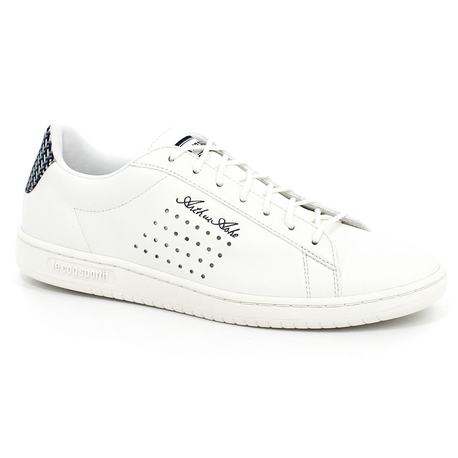 Shoes – Le Coq Sportif Arthur Ashe Geo Jacquard Cream/Grey