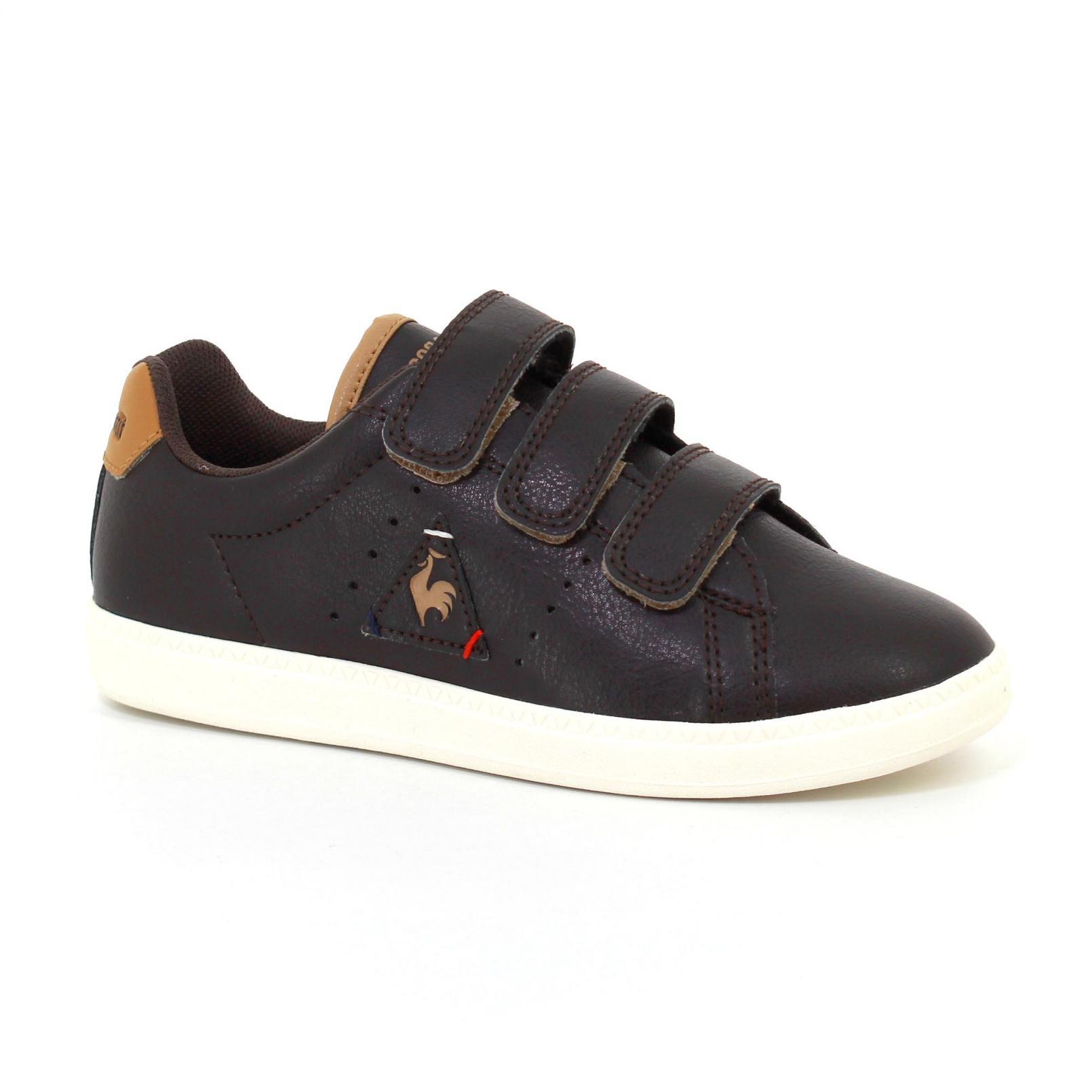 Shoes – Le Coq Sportif Courtone Ps S Lea Craft Brown
