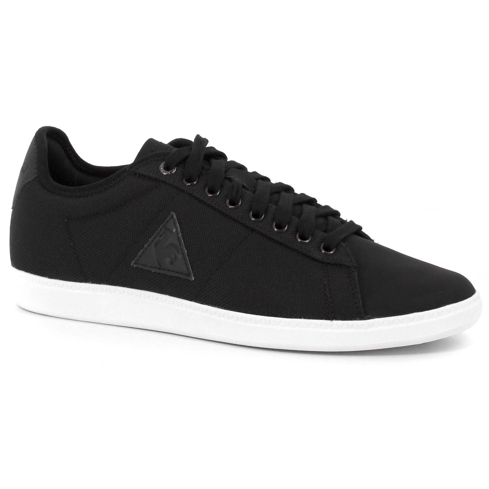 Shoes – Le Coq Sportif Courtset Ballistic Black