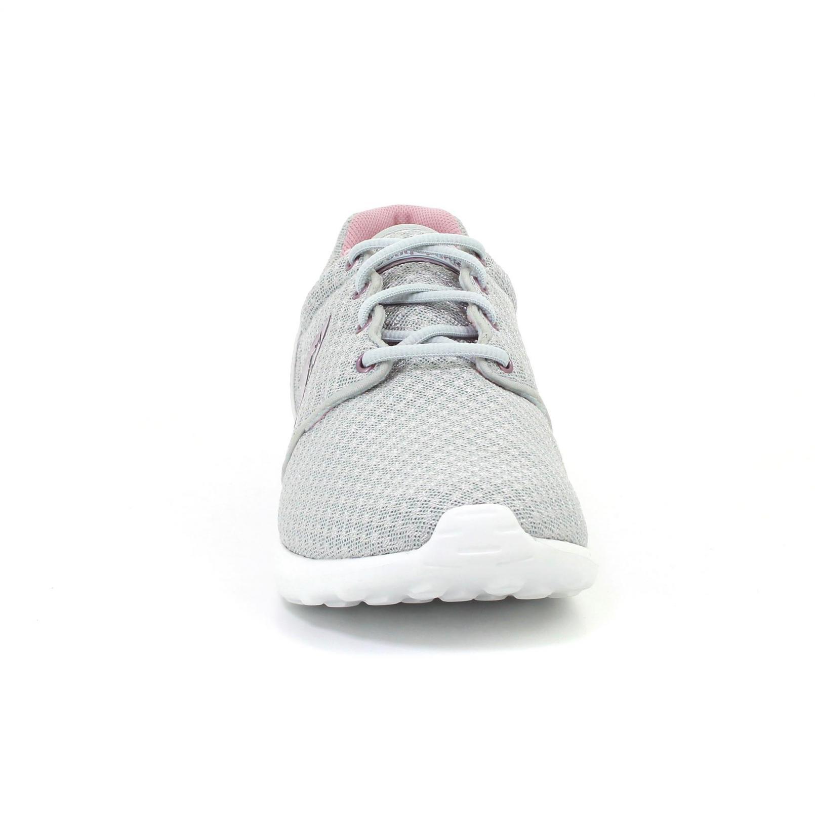 Shoes – Le Coq Sportif Dynacomf Gs Feminine Mesh/Metallic Grey/Pink