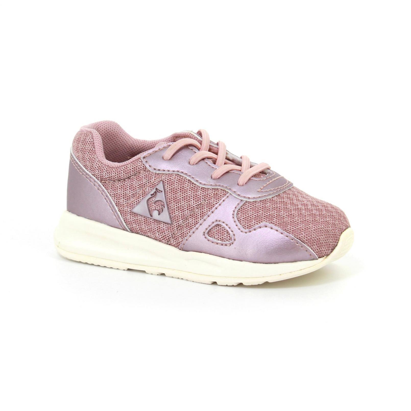 Shoes – Le Coq Sportif Lcs R600 Inf Feminine Mesh/Metallic Pink/Pink
