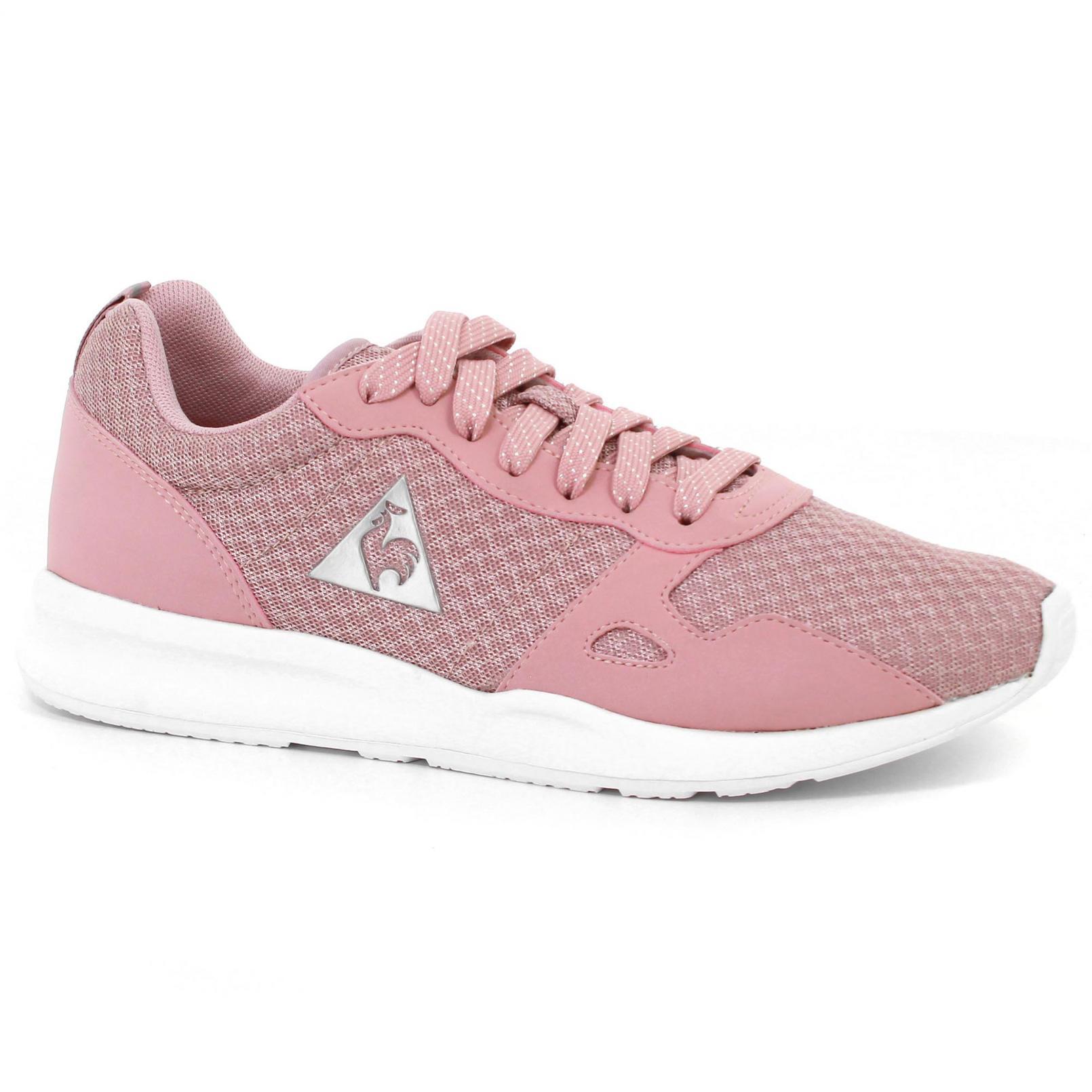 Shoes – Le Coq Sportif Lcs R600 W Feminine Mesh/S Nubuck Pink/Grey