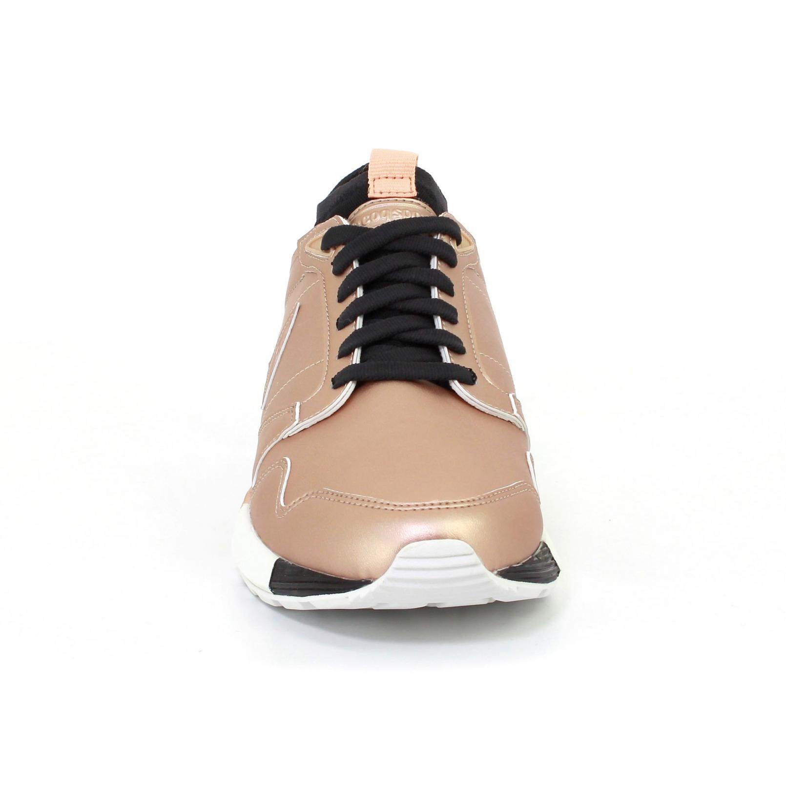 Shoes – Le Coq Sportif Omicron W S Lea Metallic Pink/Black