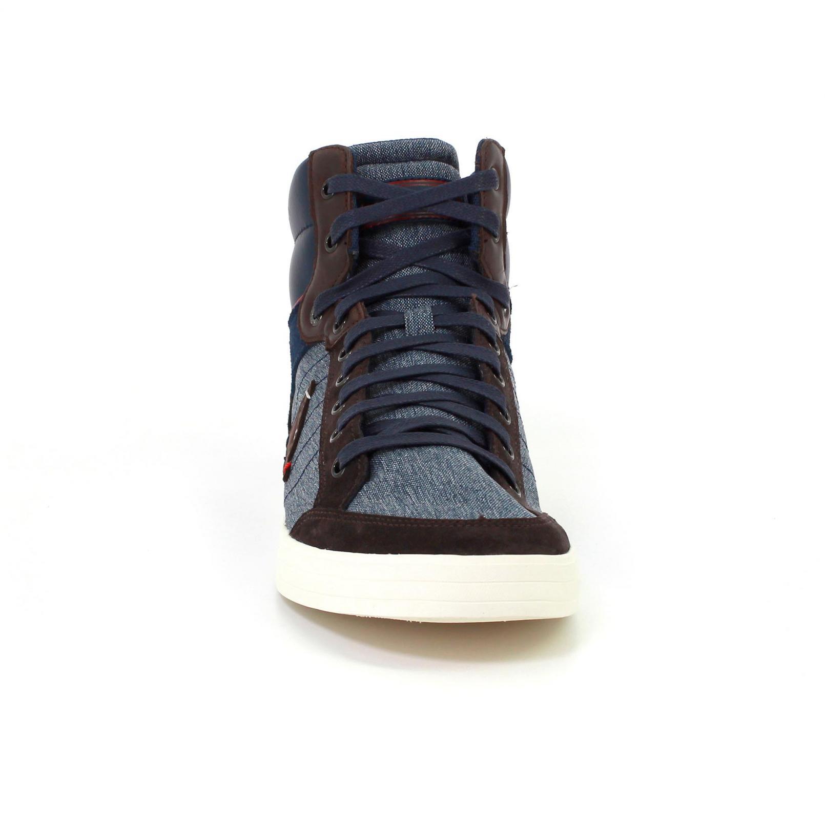 Shoes – Le Coq Sportif Portalet Mid Craft 2 Tones Blue/Brown