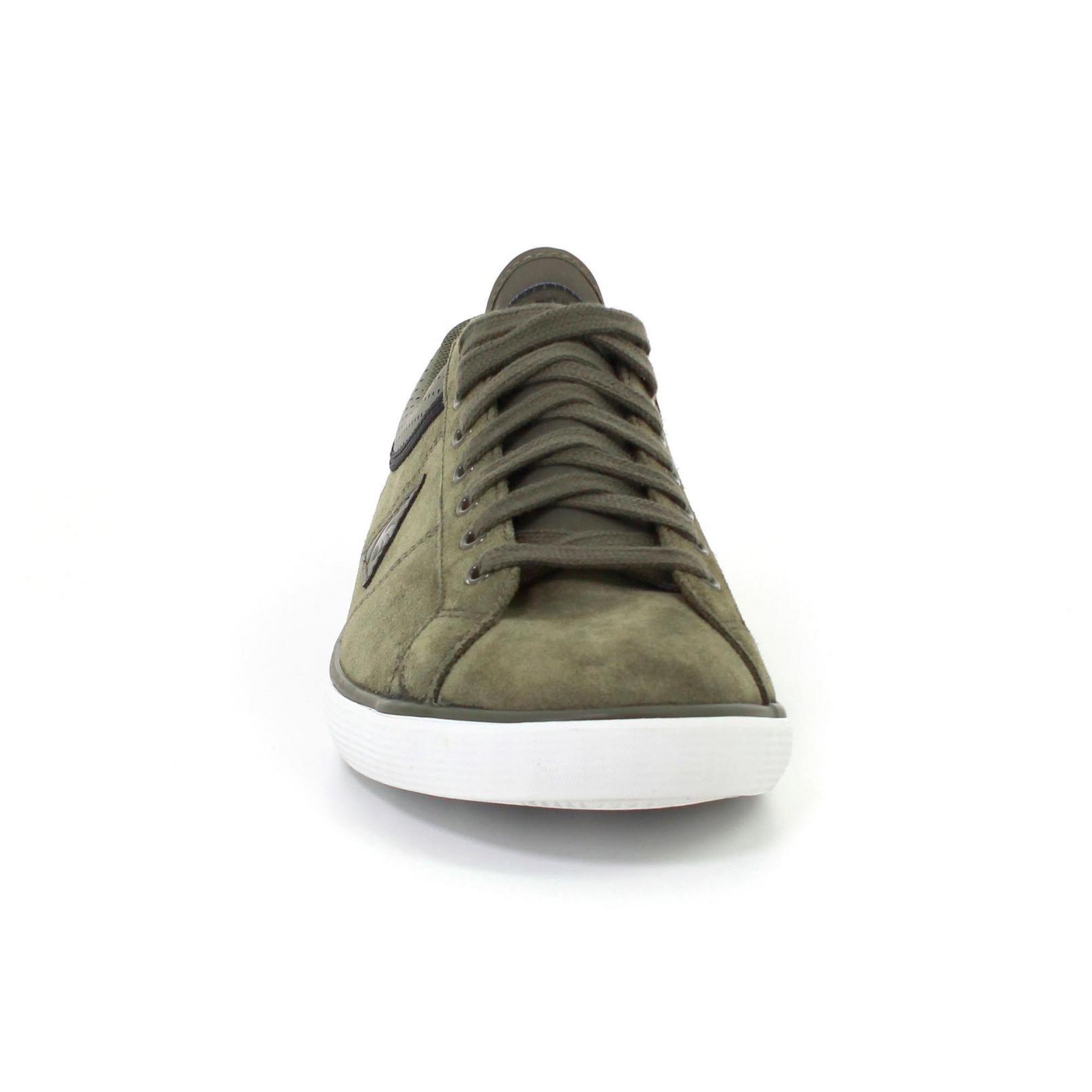 Shoes – Le Coq Sportif Saint Dantin Suede Green