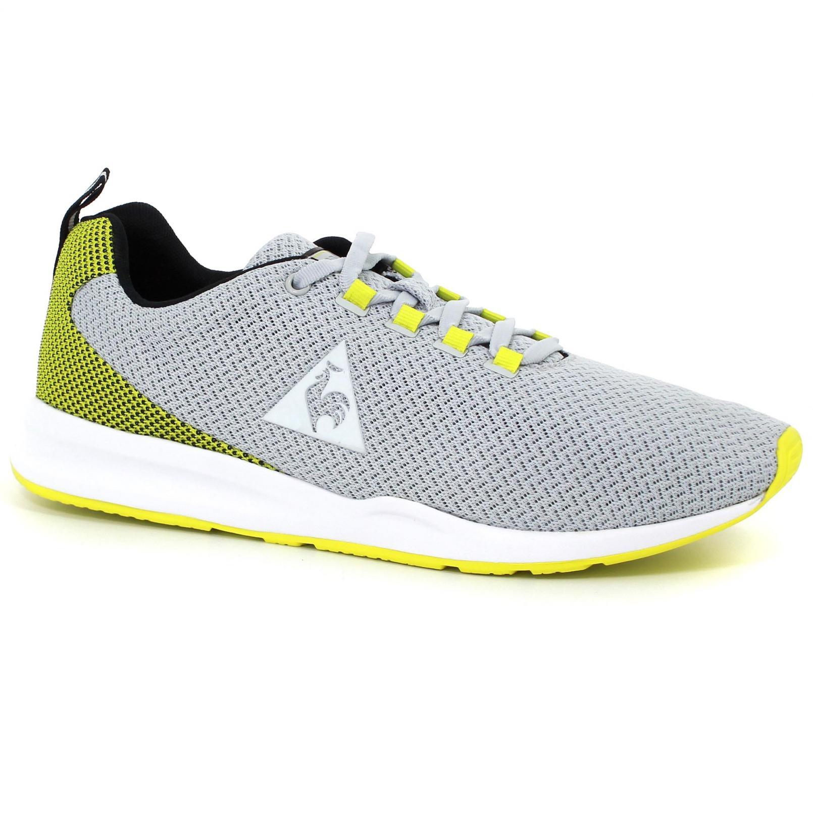 Shoes – Le Coq Sportif Techracer Engineered Mesh Grey/Yellow