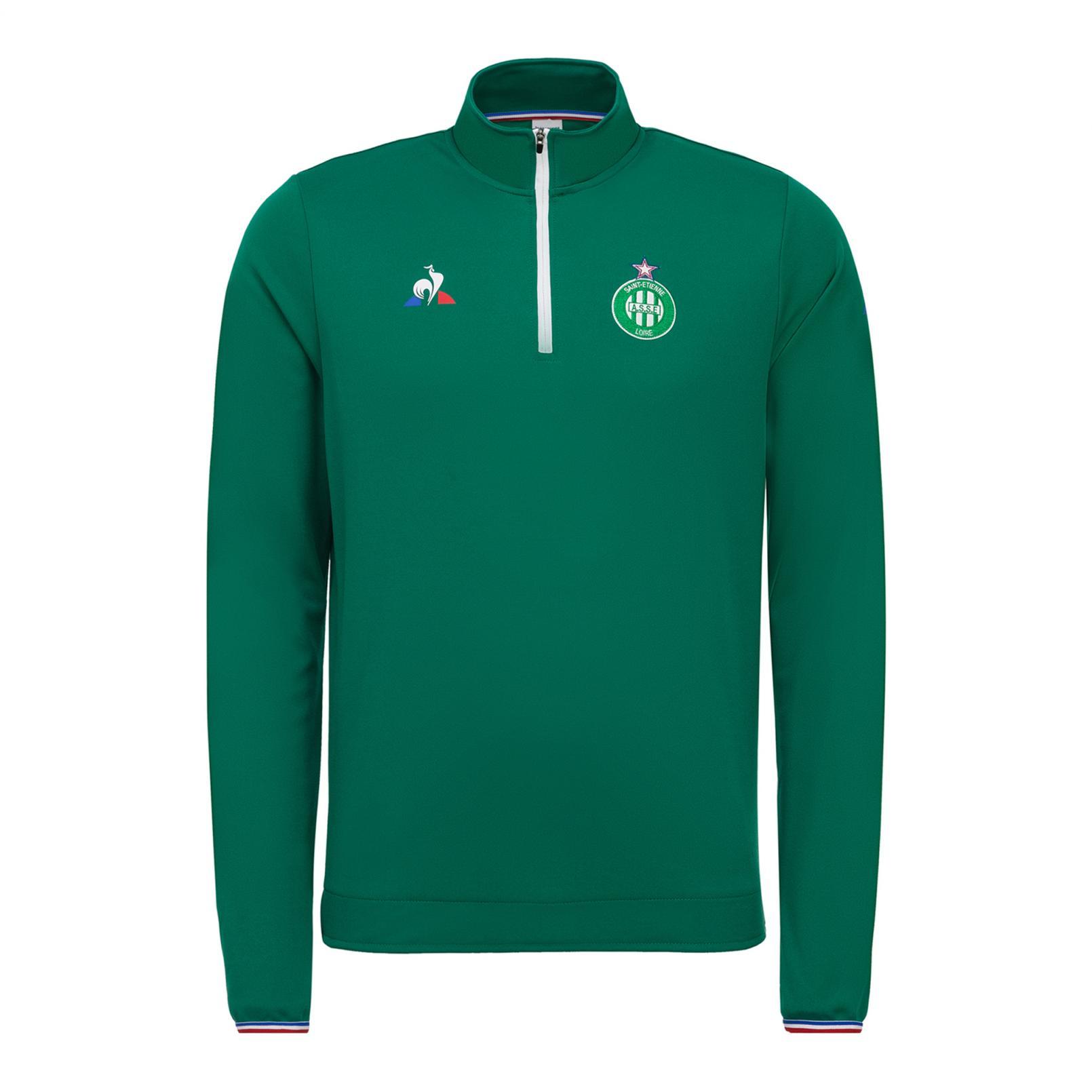 Sweat tops – Le Coq Sportif ASSE Training Sweat Green