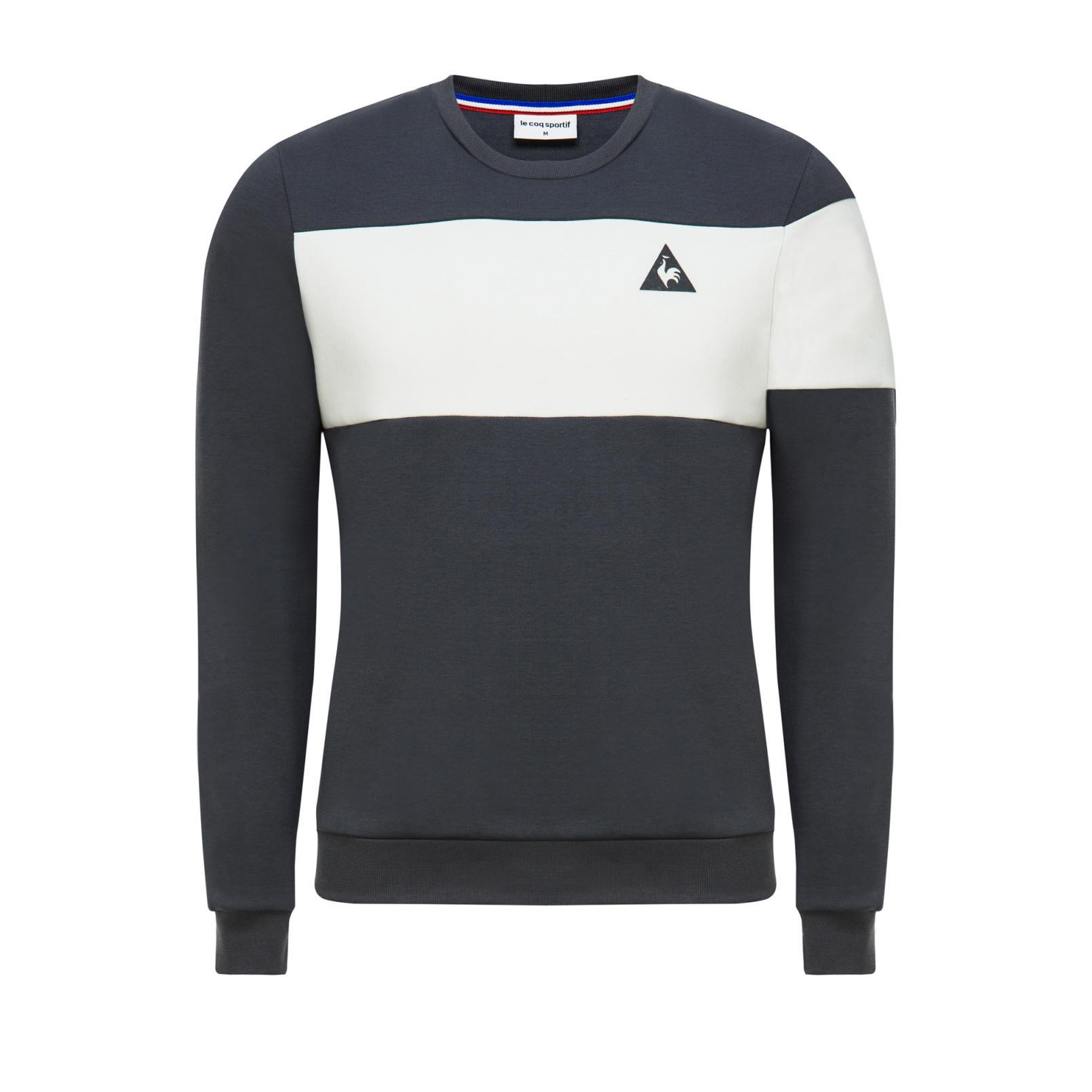 Sweat tops – Le Coq Sportif Crew Sweat Essentiels Grey/White