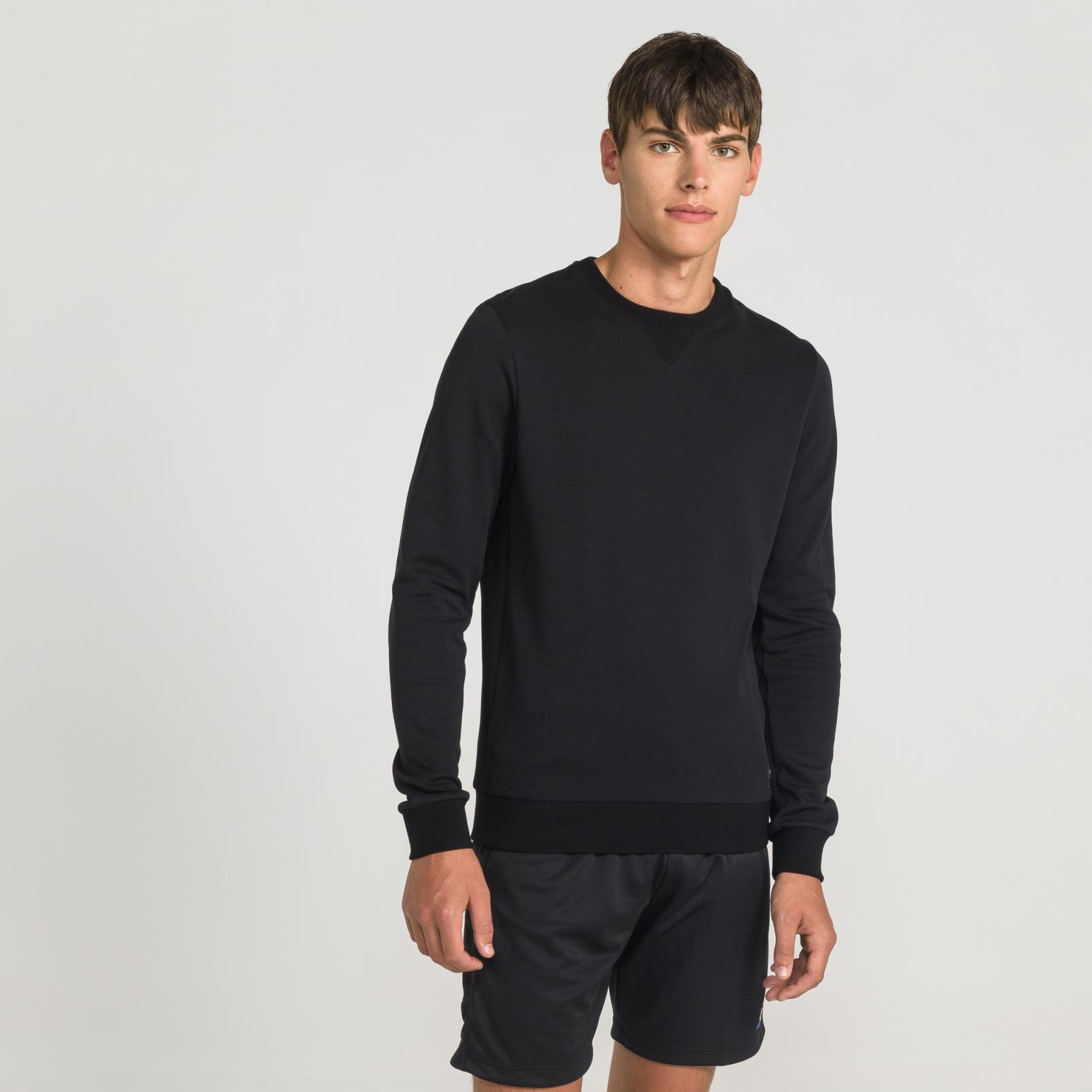 Sweat tops – Le Coq Sportif Essentiels Crew Sweat Black