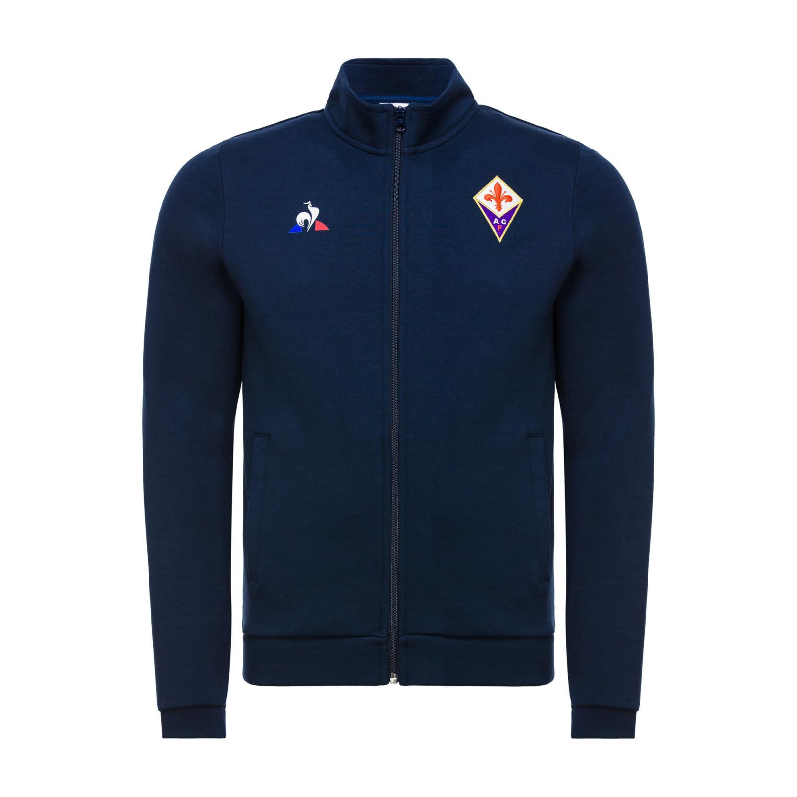 Sweat tops – Le Coq Sportif Fiorentina Pres Full zip sweatsthirt Blue