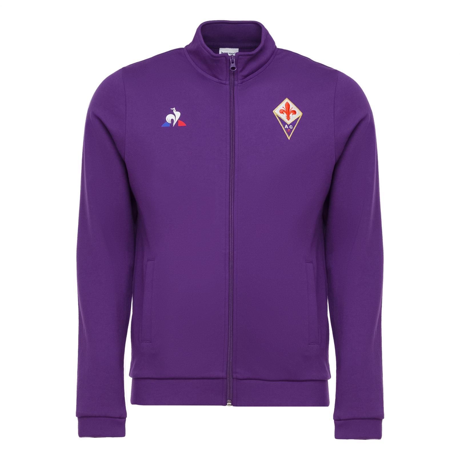 Sweat tops – Le Coq Sportif Fiorentina Pres Full zip sweatsthirt Purple