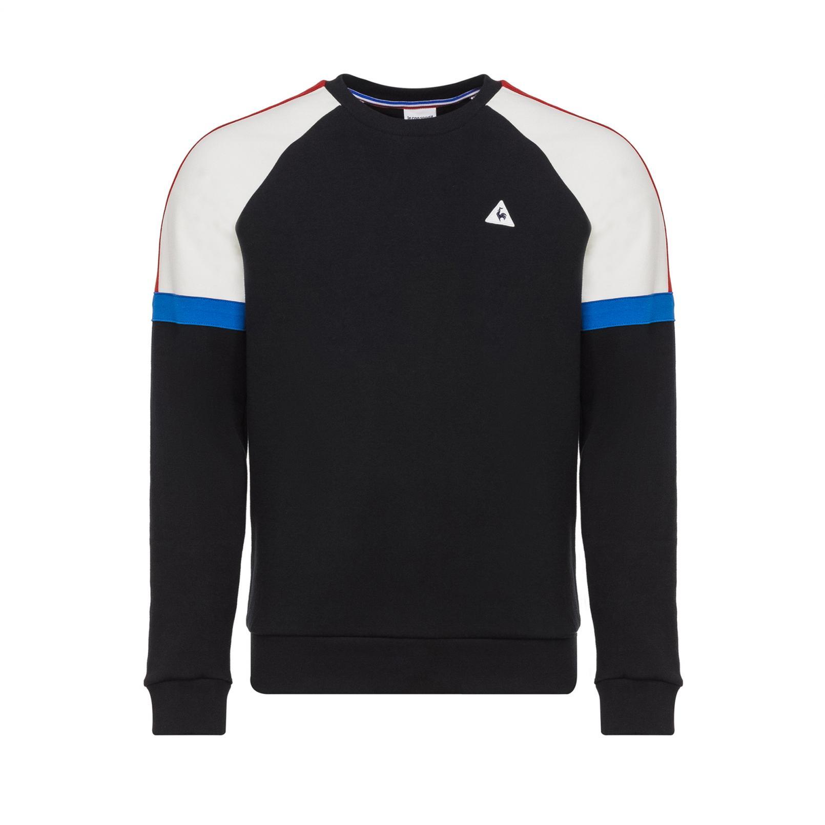 Sweat tops – Le Coq Sportif Tricolore Crew Sweat Black