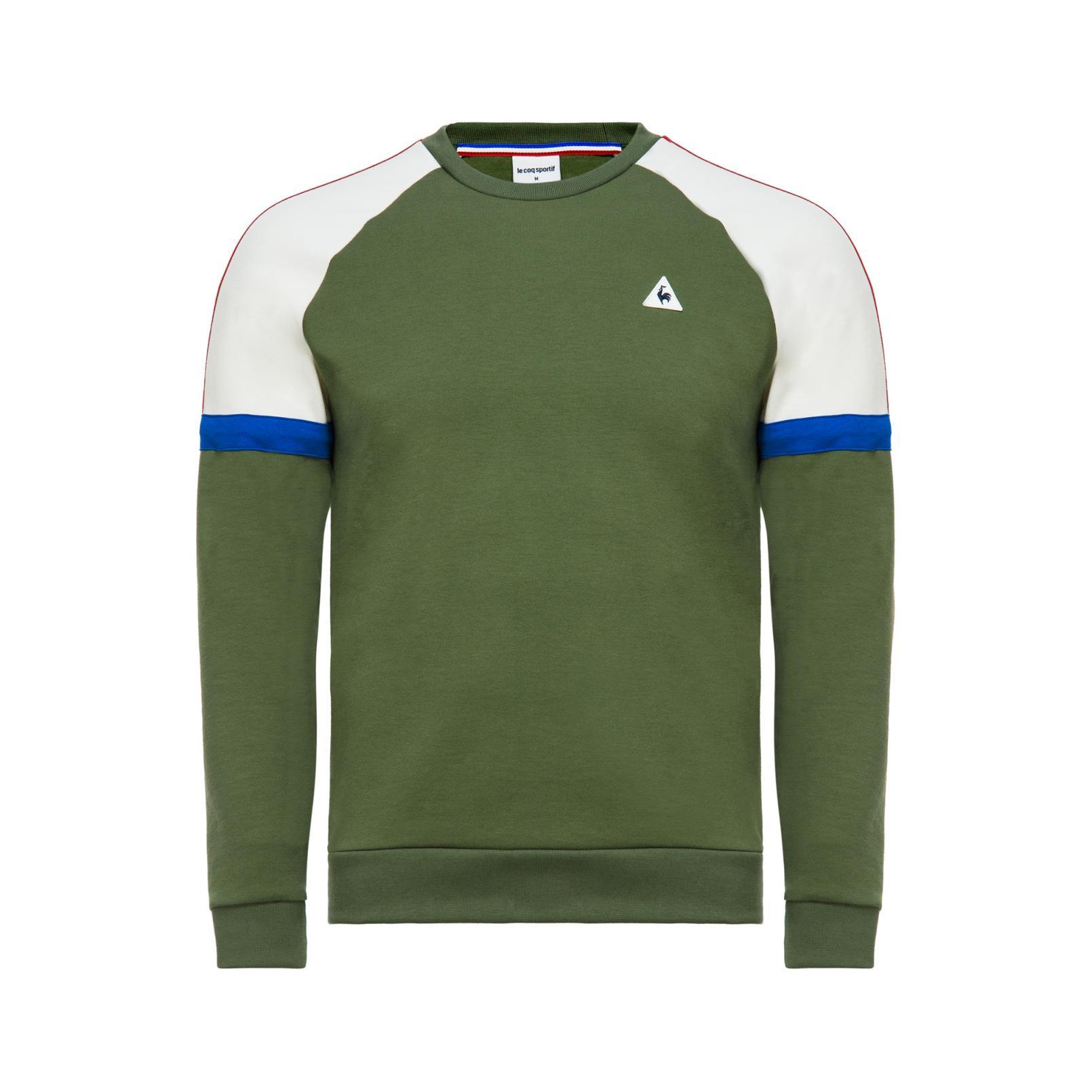 Sweat tops – Le Coq Sportif Tricolore Crew Sweat Green