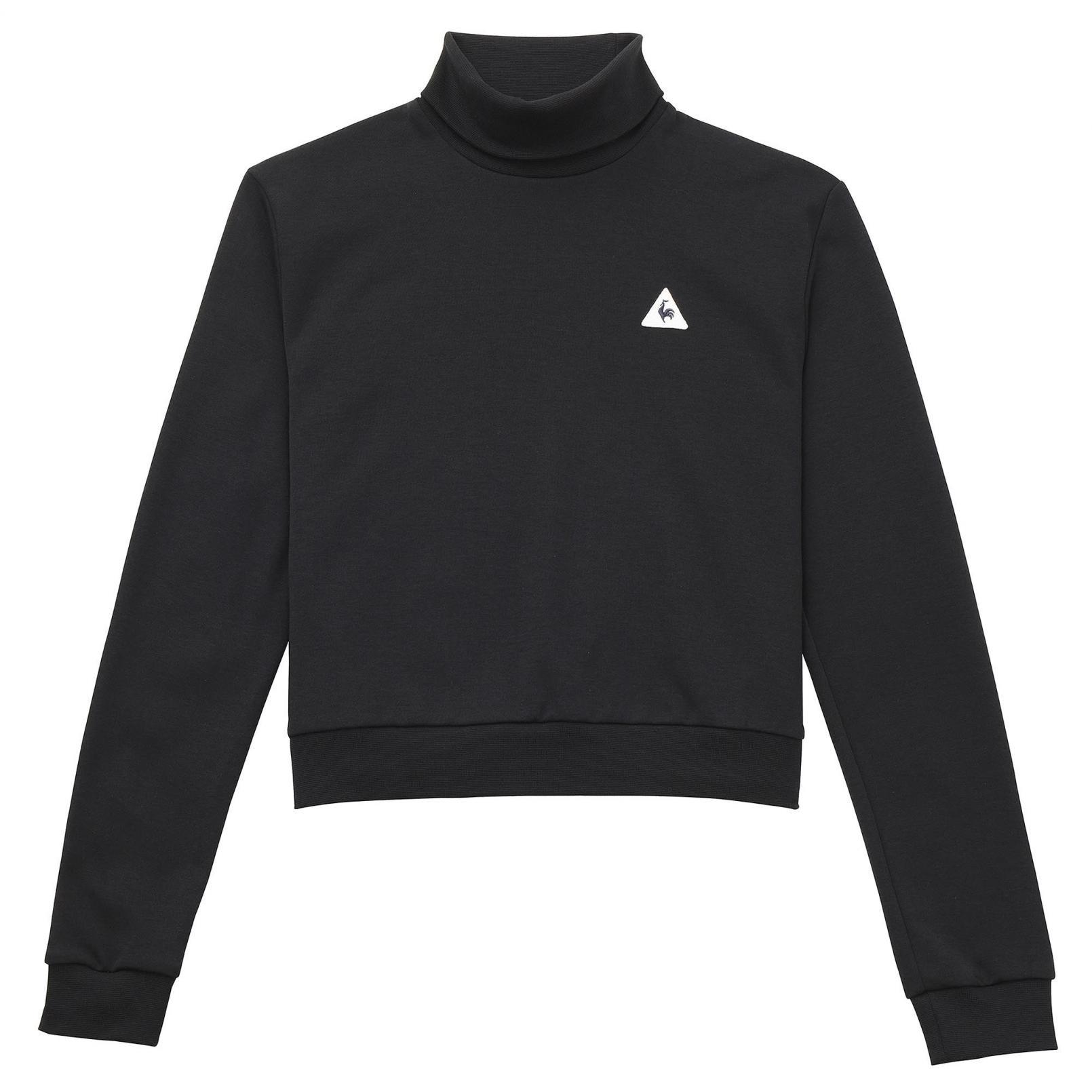 Sweatshirts & Hoodies – Le Coq Sportif Essentiels Crop Crew Sweat Black