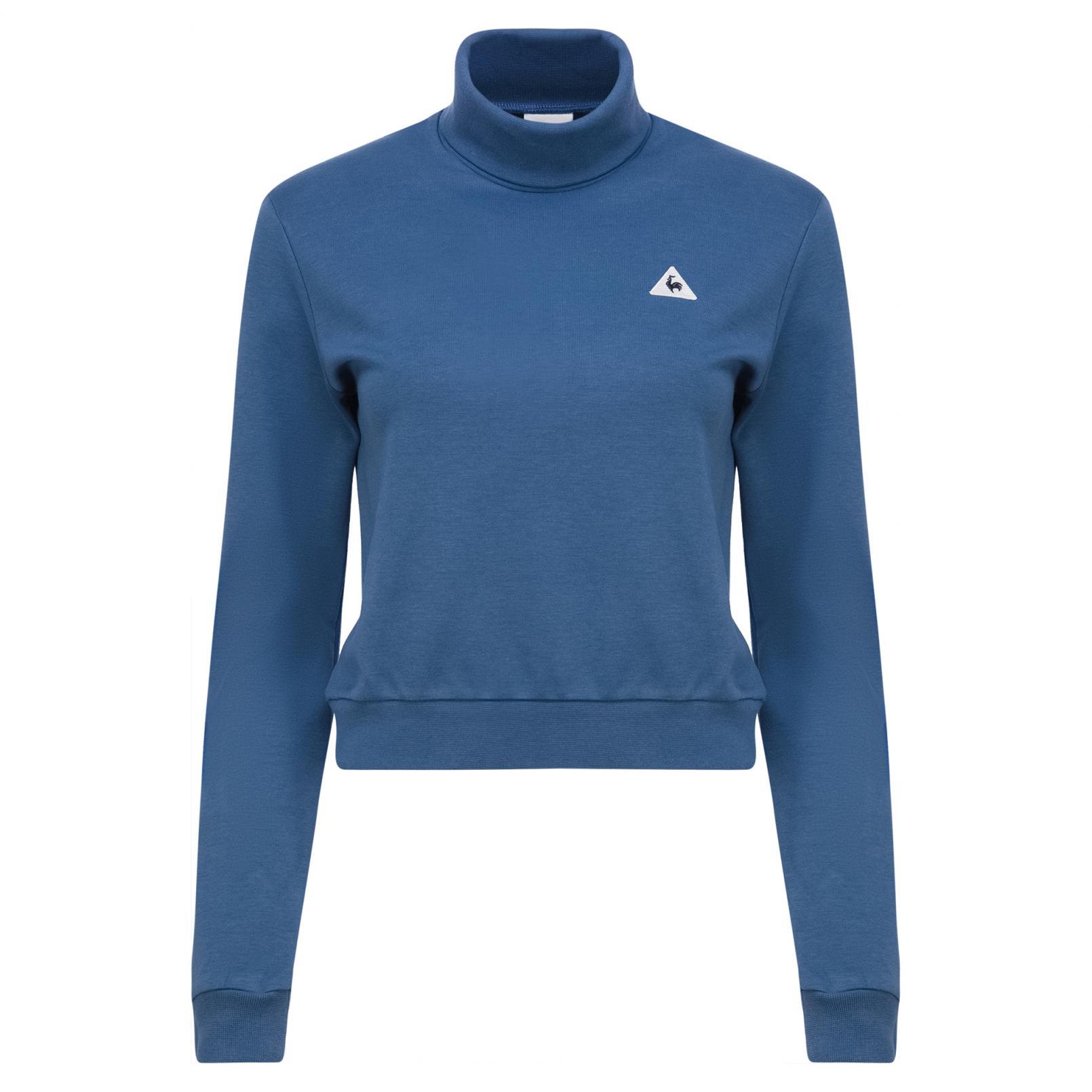 Sweatshirts & Hoodies – Le Coq Sportif Essentiels Crop Crew Sweat Blue