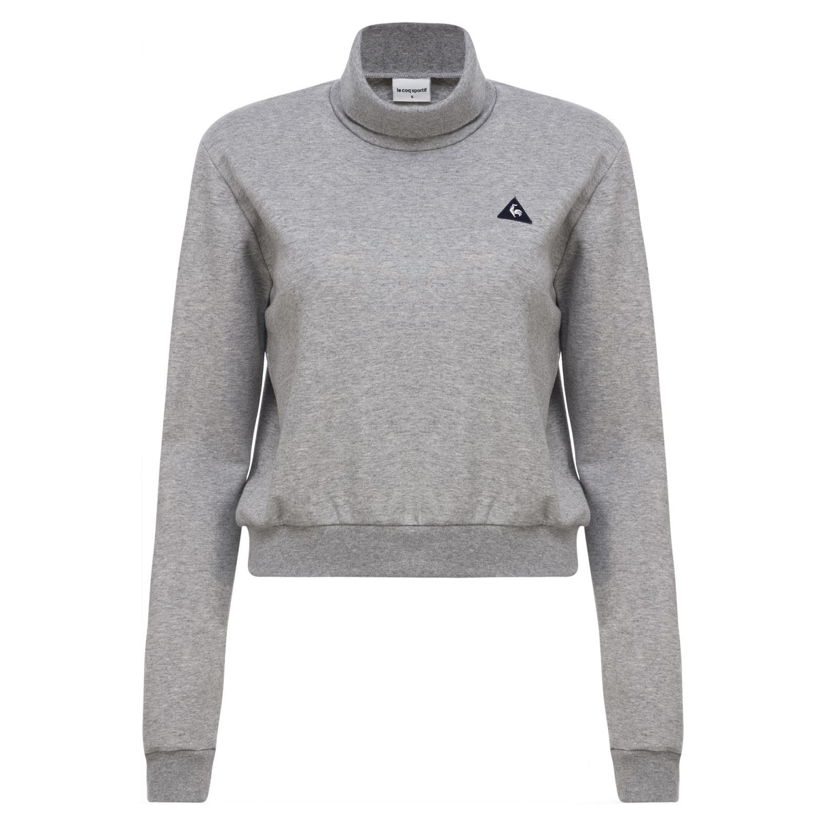 Sweatshirts & Hoodies – Le Coq Sportif Essentiels Crop Crew Sweat Grey