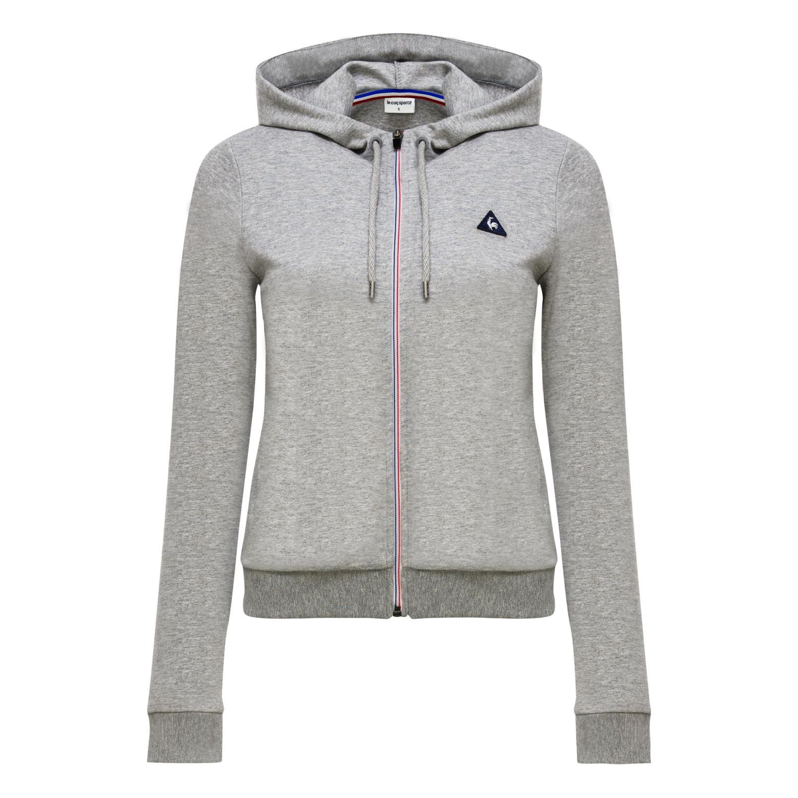 Sweatshirts & Hoodies – Le Coq Sportif Essentiels Pull-over hood Black