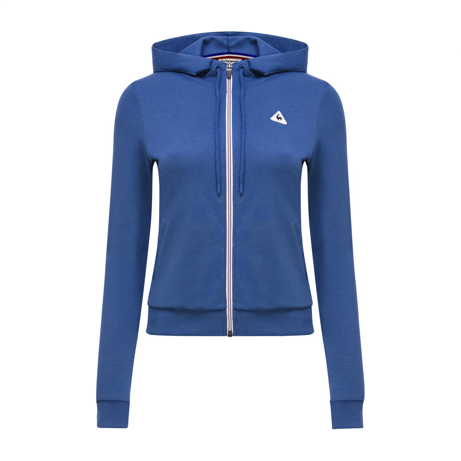 Sweatshirts & Hoodies – Le Coq Sportif Essentiels Pull-over hood Blue