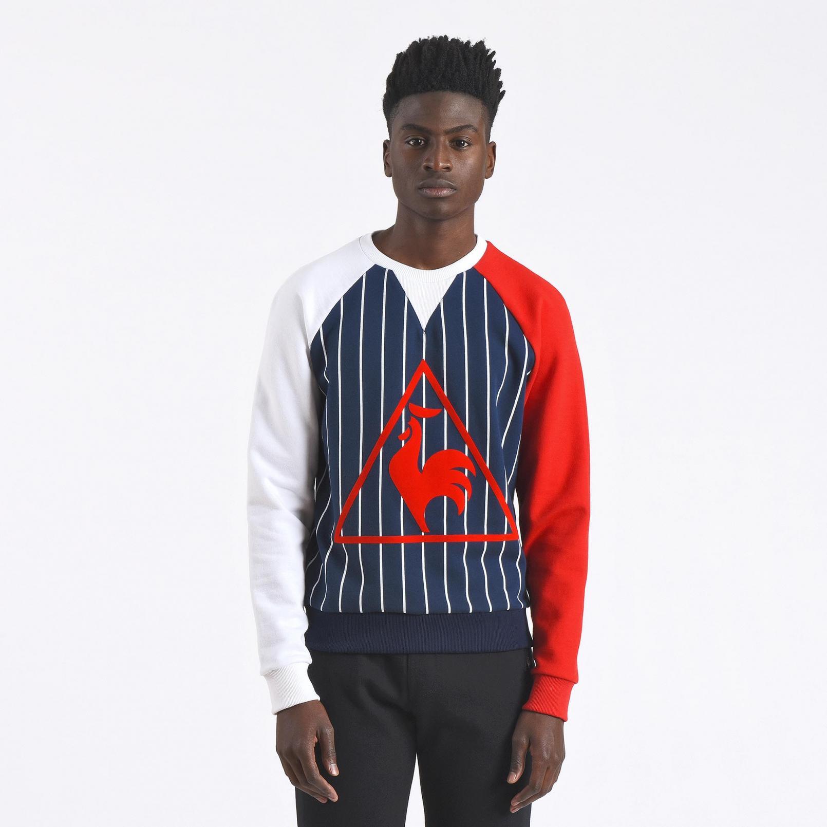 Sweatshirts & Hoodies – Le Coq Sportif LC23 Sweat White/Blue