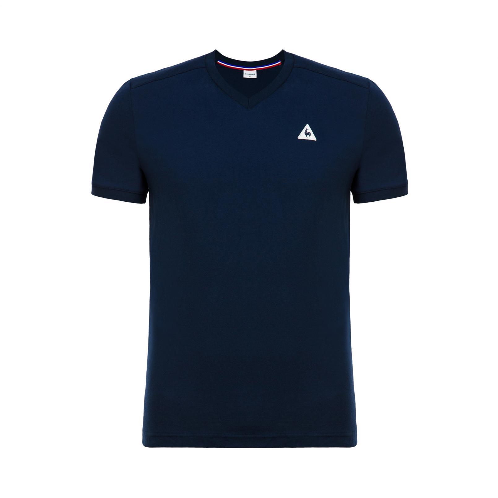 T-shirts – Le Coq Sportif Essentiels T-shirt Blue/White