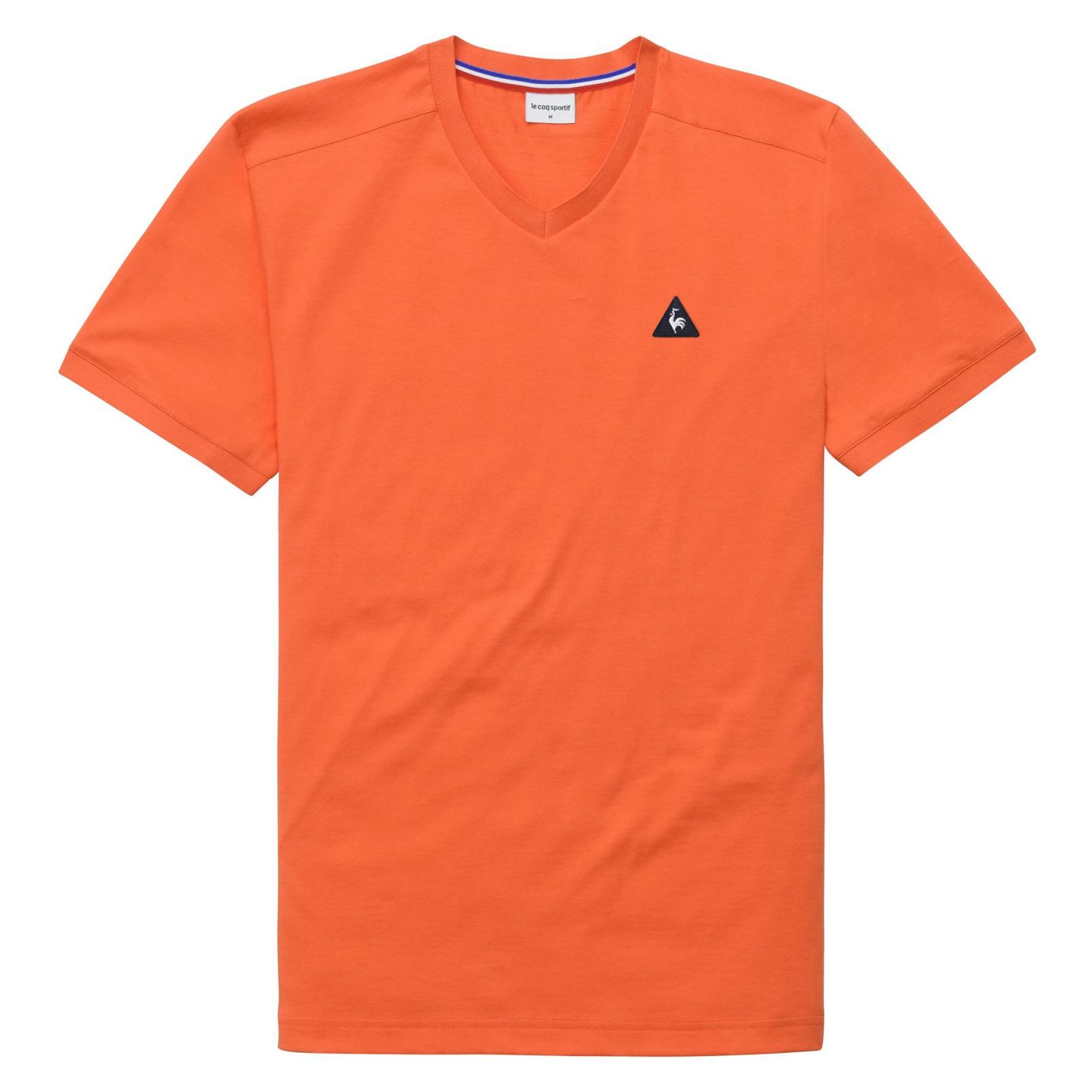 T-shirts – Le Coq Sportif Essentiels T-shirt Orange