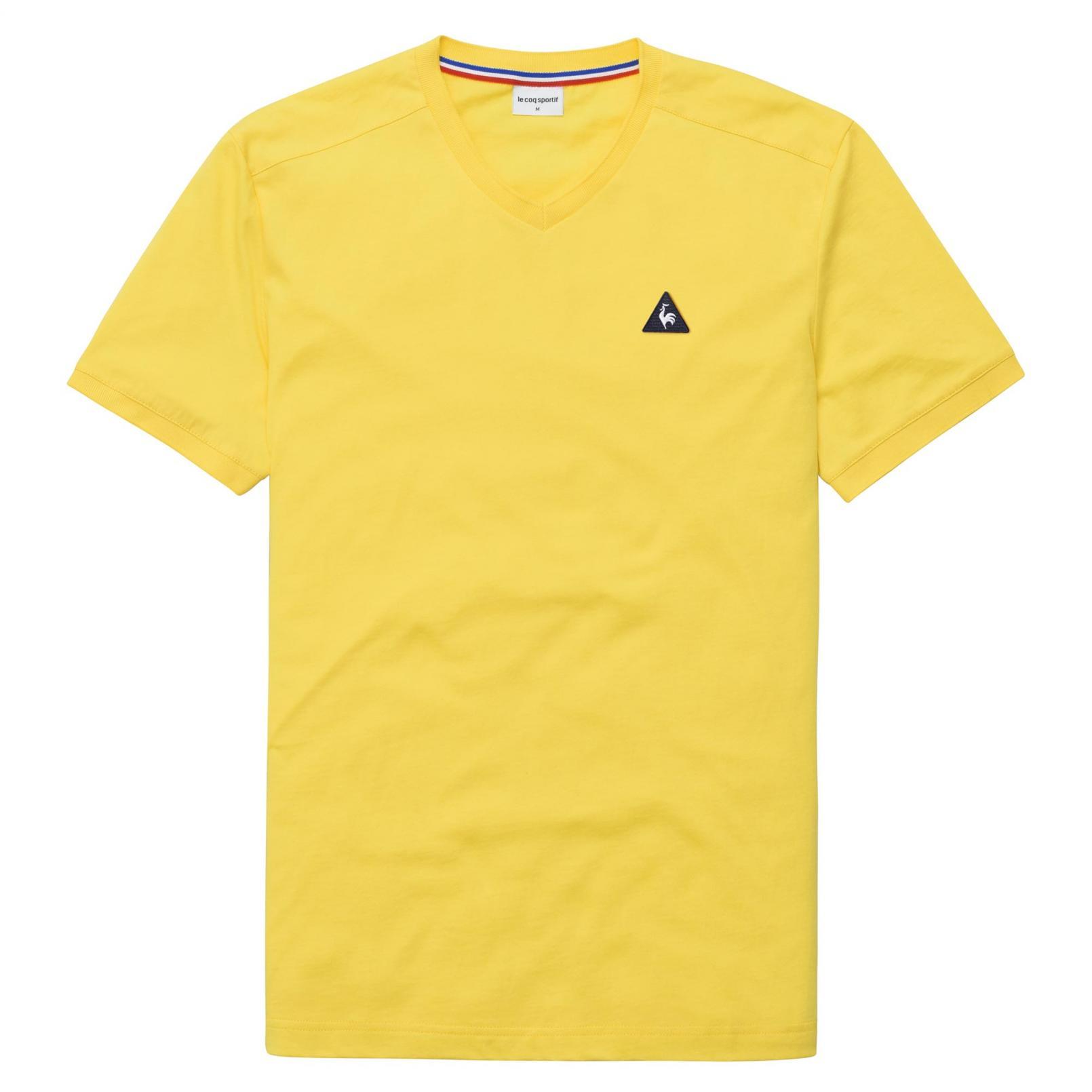 T-shirts – Le Coq Sportif Essentiels T-shirt Yellow