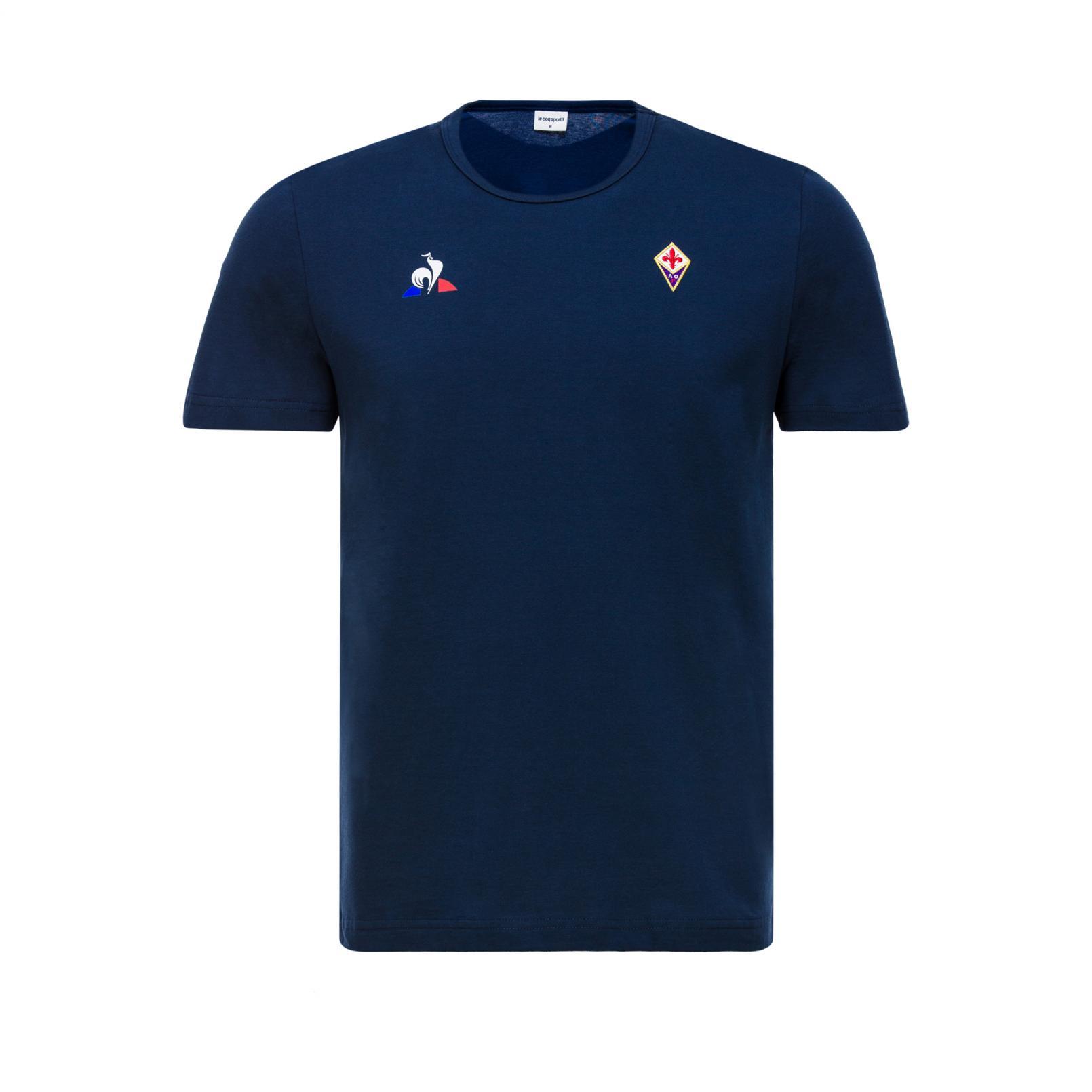 T-shirts – Le Coq Sportif Fiorentina Pres T-shirt Purple