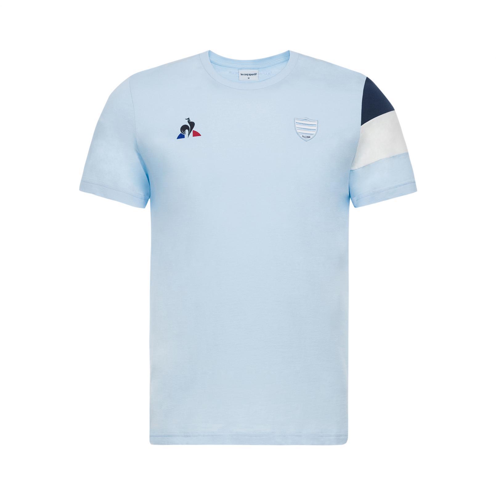 T-shirts – Le Coq Sportif Racing 92 Fanwear T-shirt Light Blue
